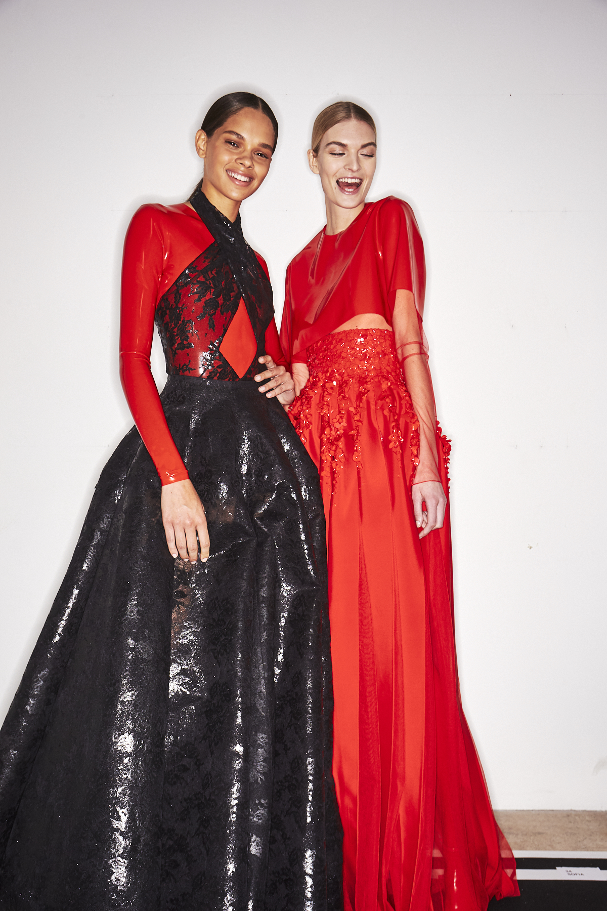 Givenchy SS19 Haute Couture Fashion Show Paris Backstage
