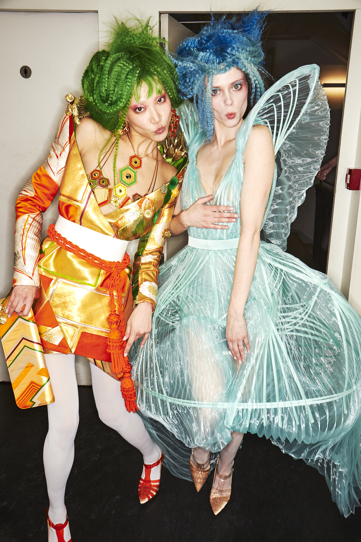 Jean Paul Gaultier SS19 Haute Couture Fashion Show Paris Backstage
