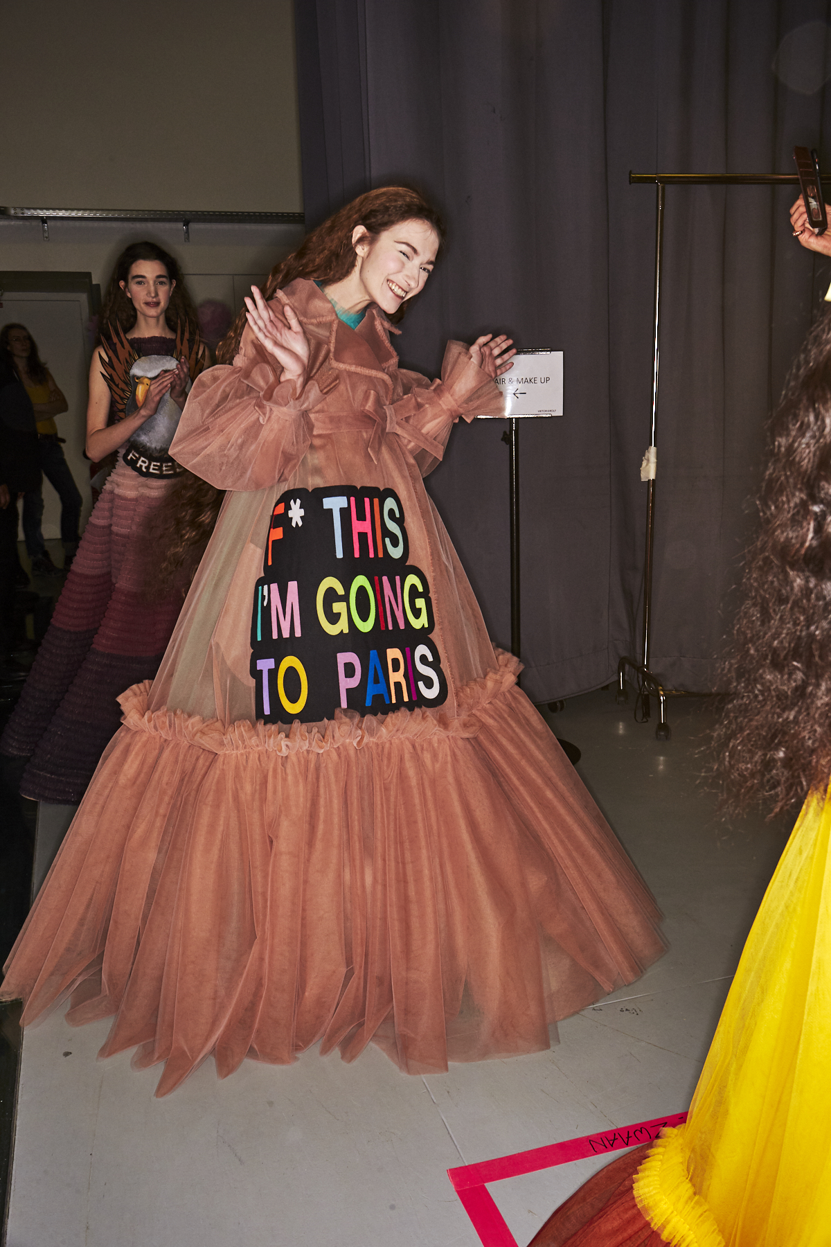 Viktor & Rolf SS19 Haute Couture Fashion Show Paris Backstage