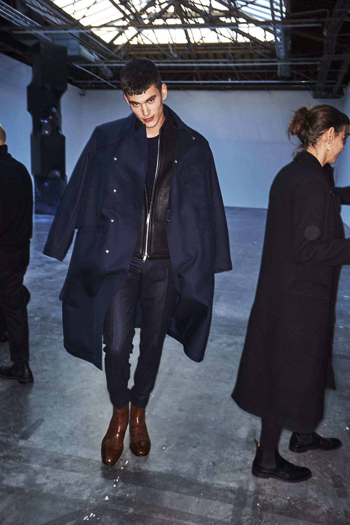 Cerruti AW19 Men Fashion Show Paris Backstage