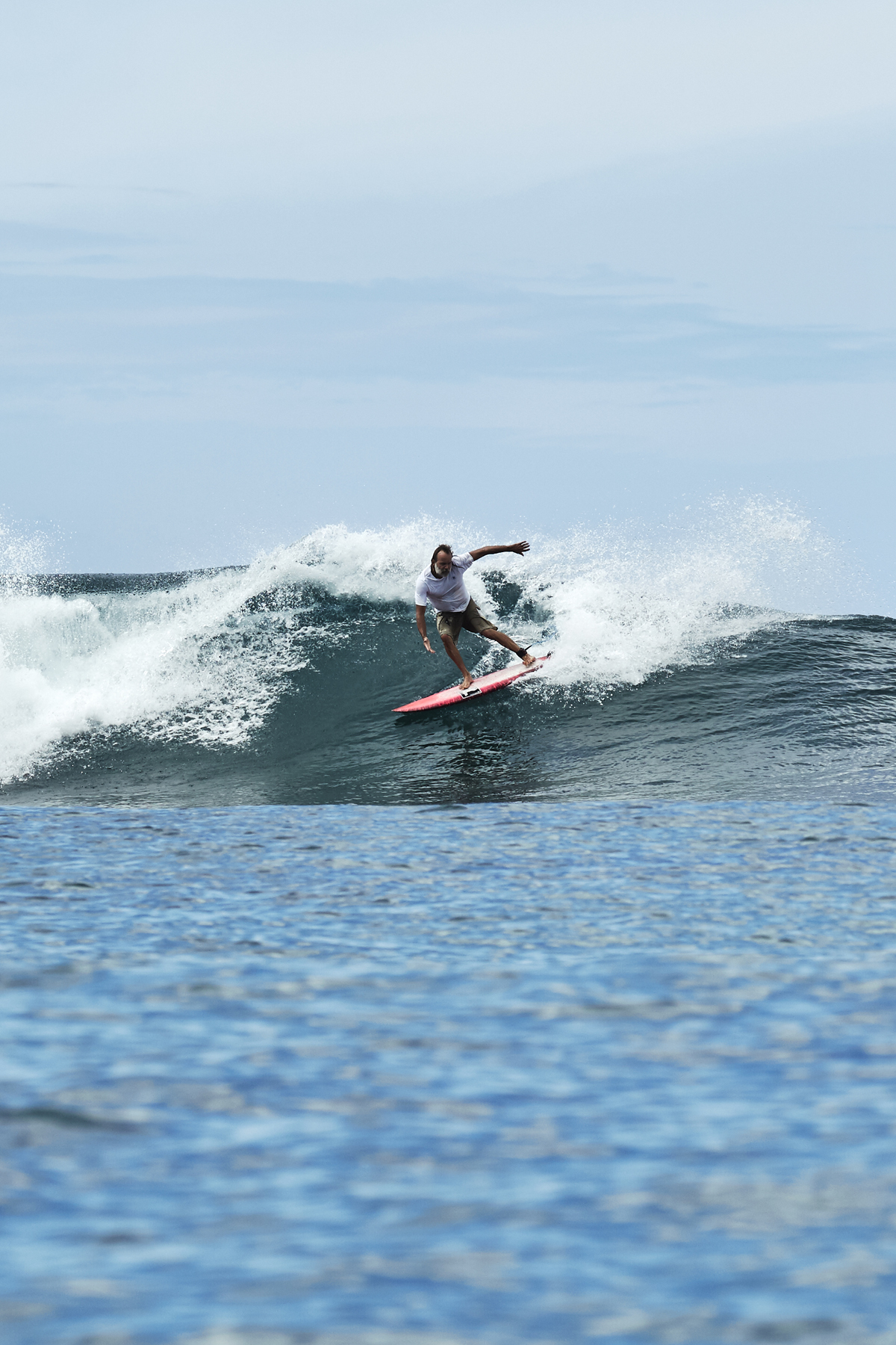 Ha'apiti, gone surfing