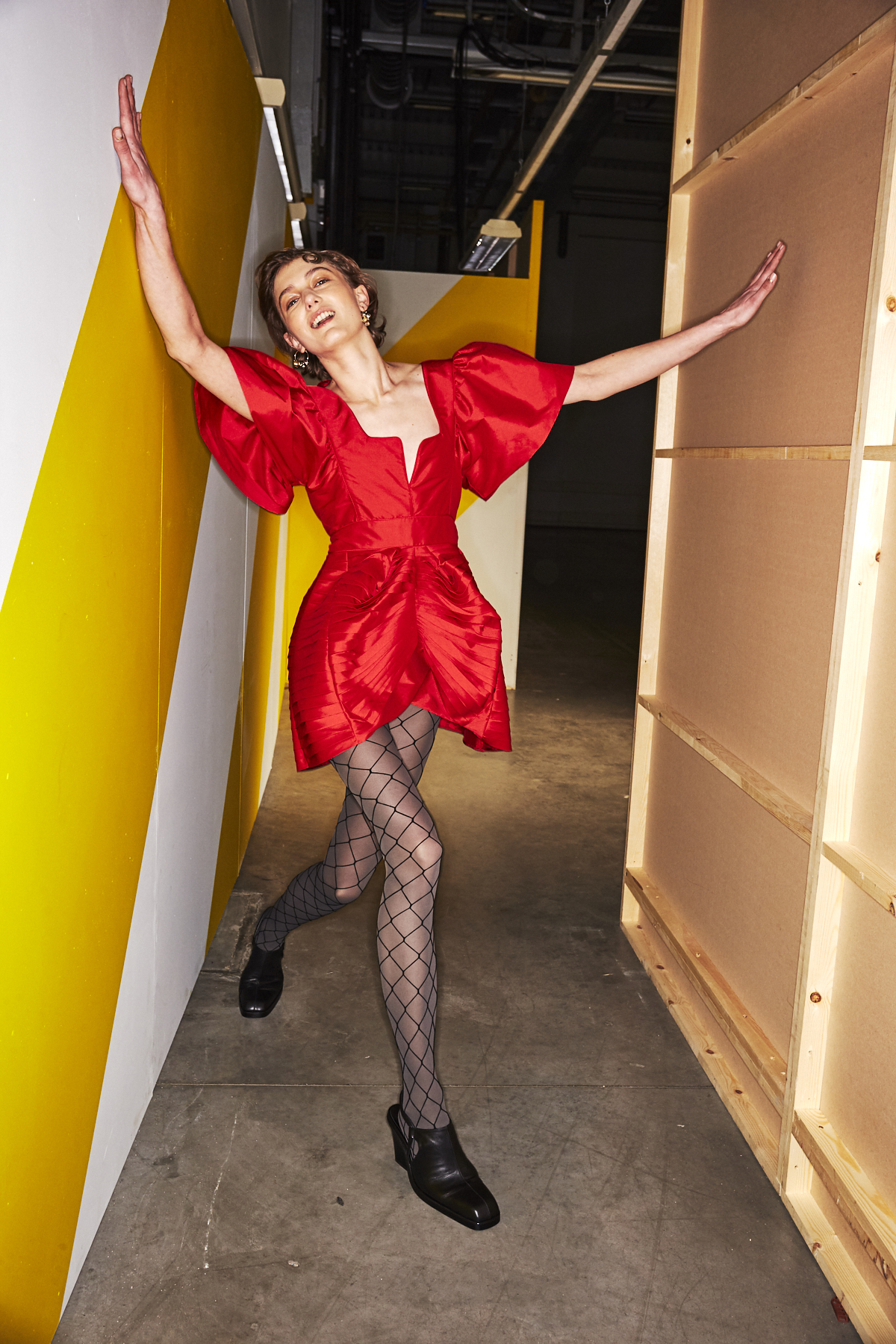 Preen AW1920 Fashion Show London Backstage