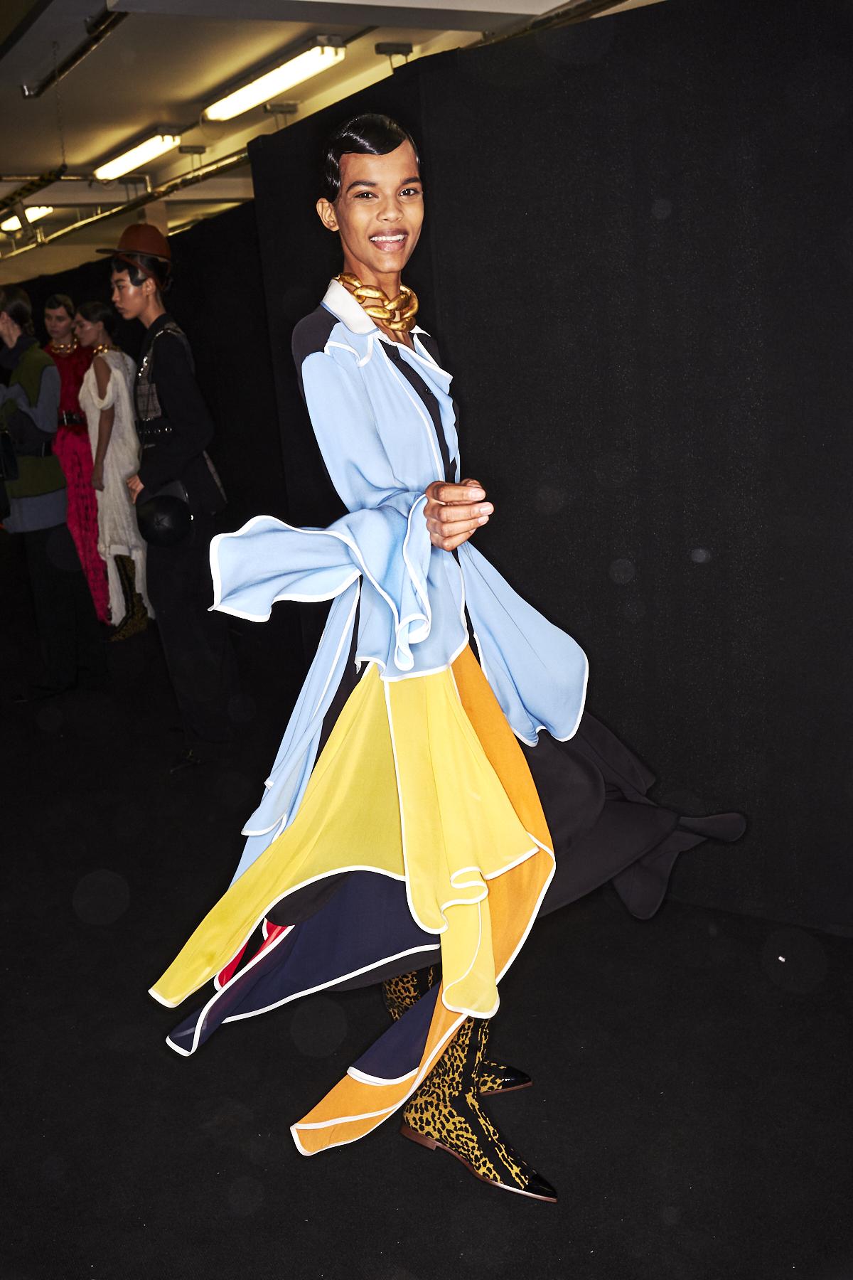 JW Anderson AW1920 Fashion Show London Backstage