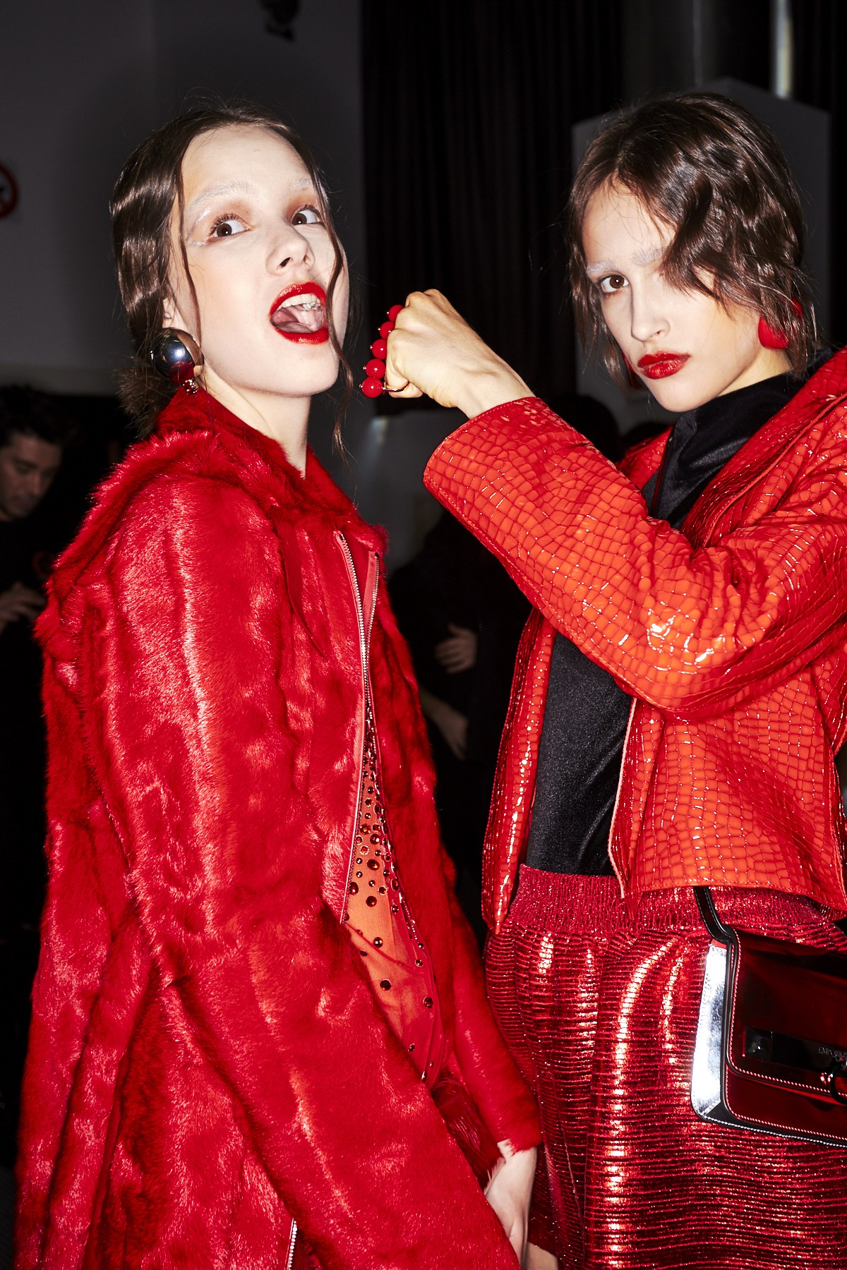 Emporio Armani AW1920 Fashion Show Paris Backstage