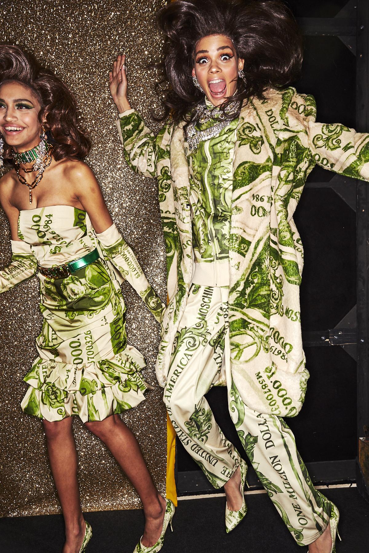 Moschino AW1920 Fashion Show Milan Backstage