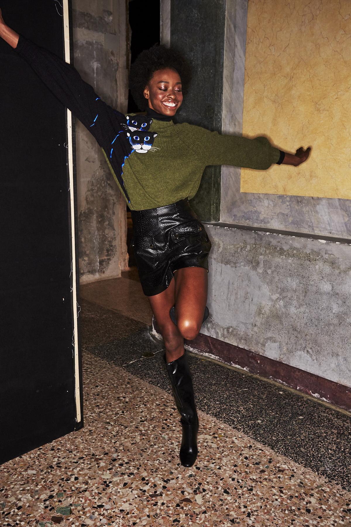 Stella Jean AW1920 Fashion Show Milan Backstage