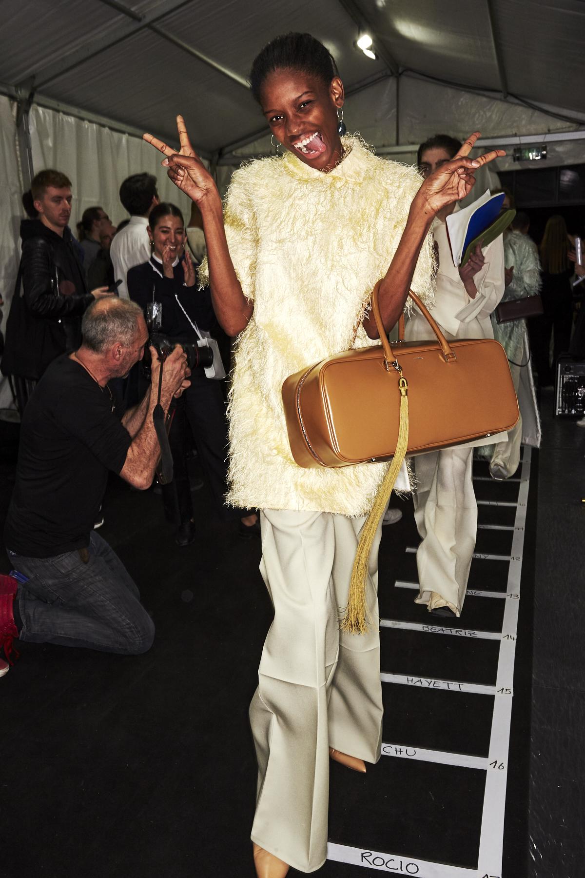 Jil Sander AW1920 Fashion Show Milan Backstage