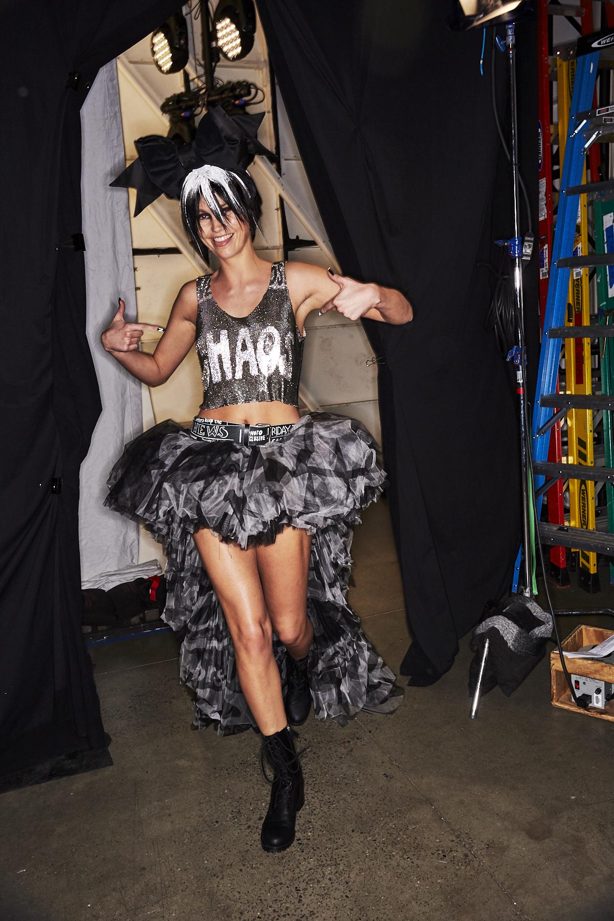 Jeremy Scott AW1920 Fashion Show New York Backstage