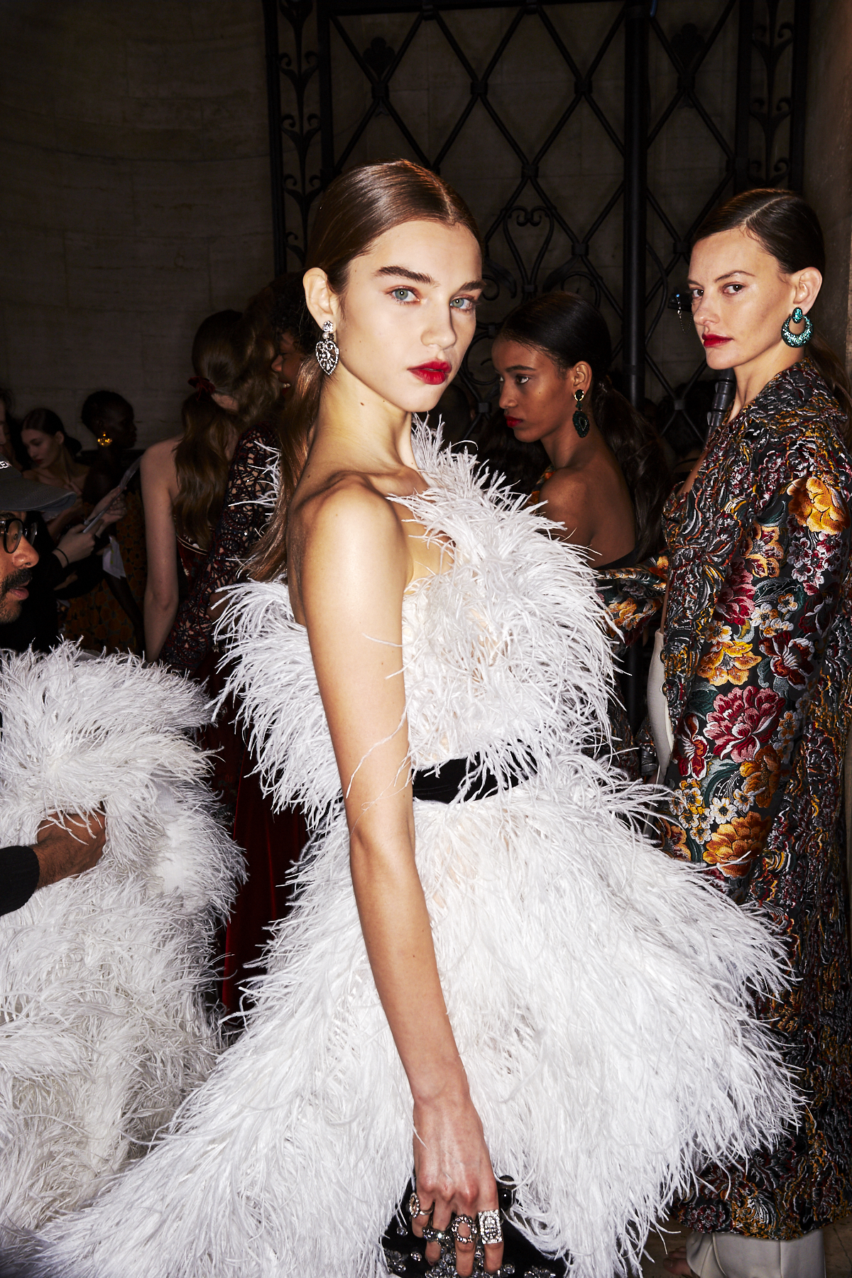 Oscar De La Renta AW1920 Fashion Show New York Backstage