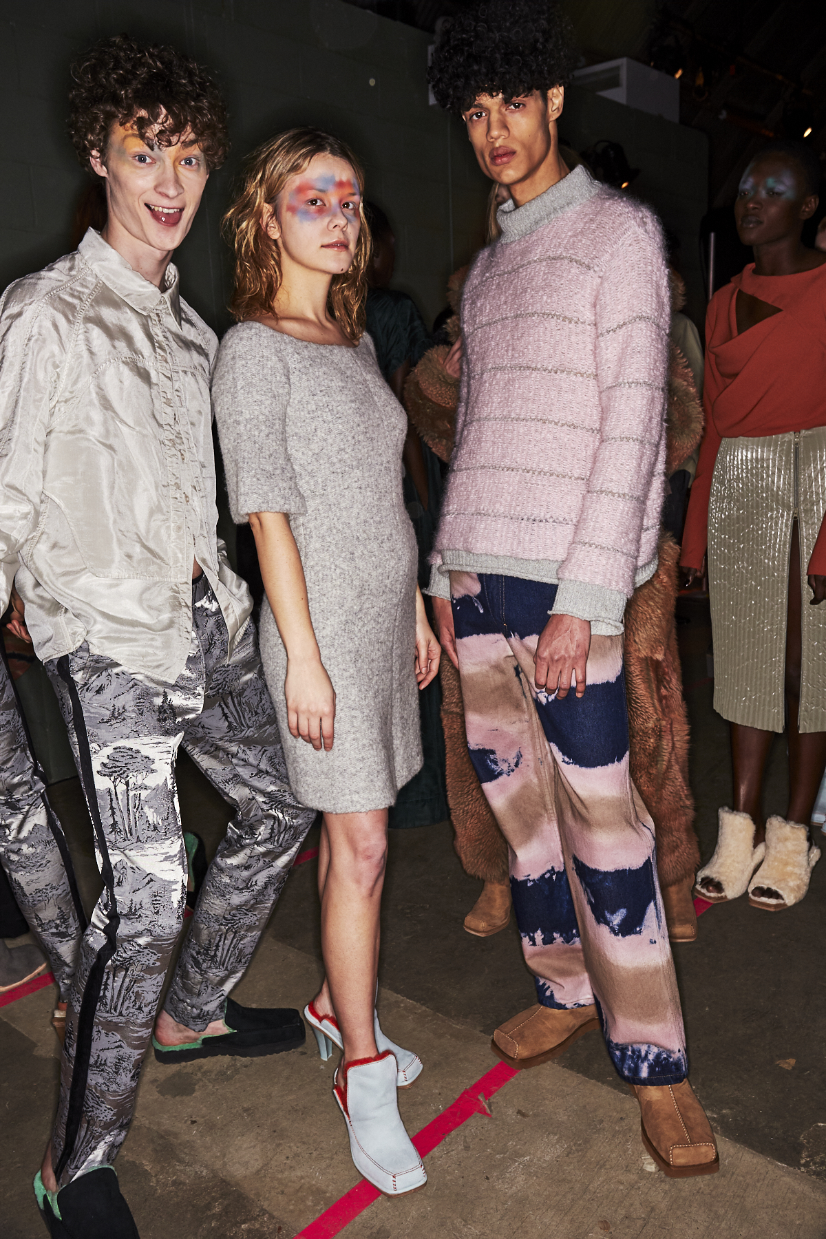 Eckhaus Latta AW1920 Fashion Show New York Backstage