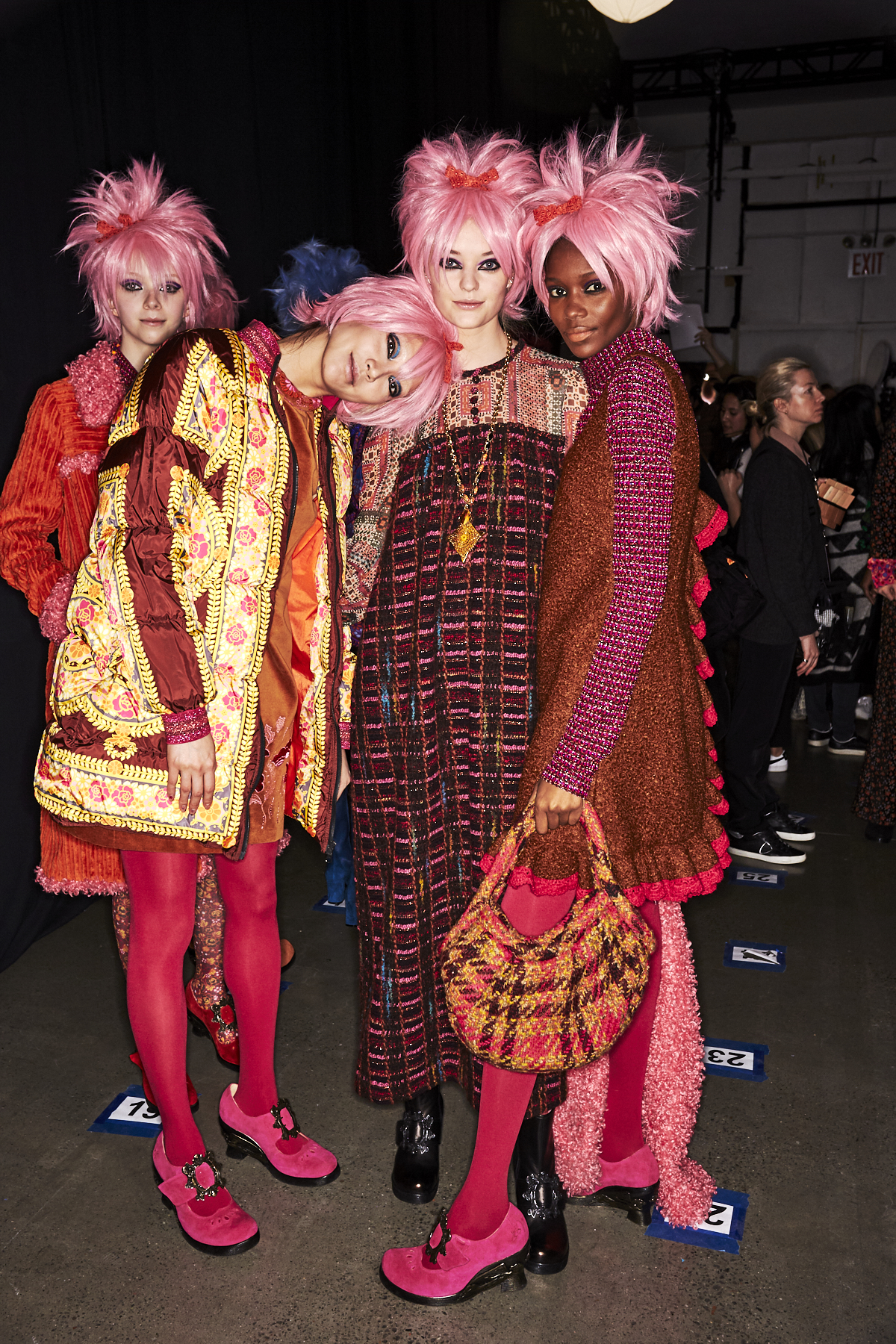 Anna Sui AW1920 Fashion Show New York Backstage