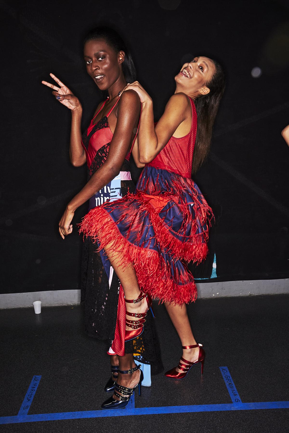 Koche AW1920 Fashion Show Paris Backstage