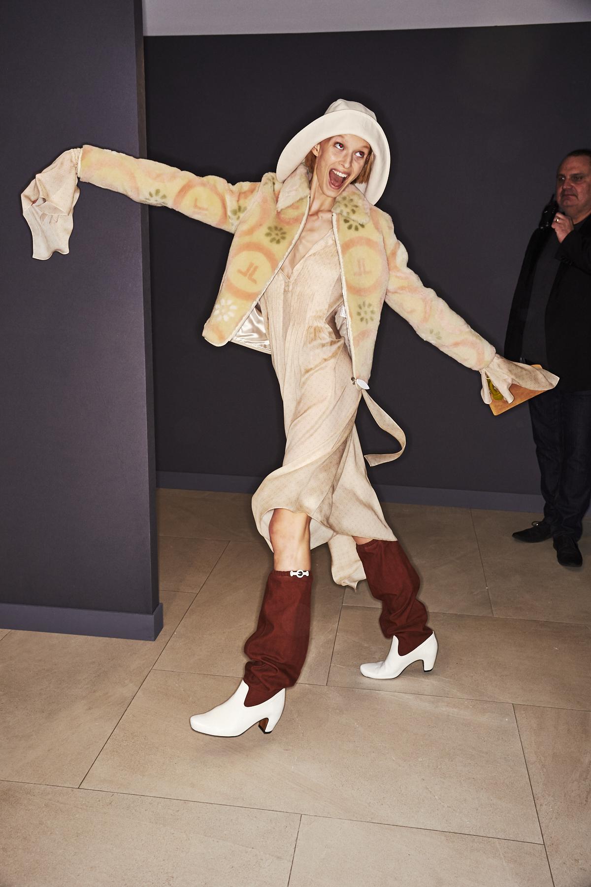 Lanvin AW1920 Fashion Show Paris Backstage