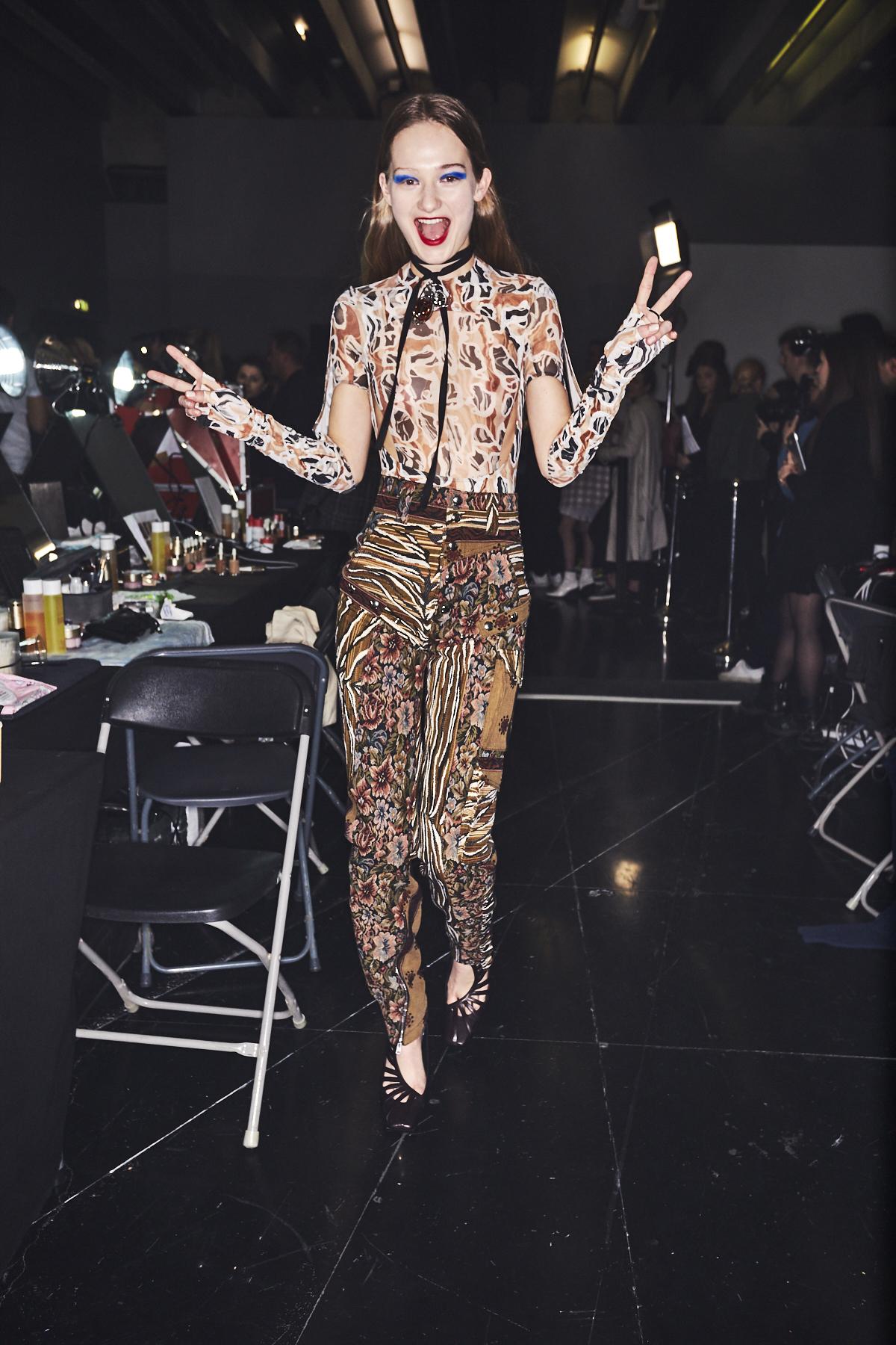 Mugler AW1920 Fashion Show Paris Backstage