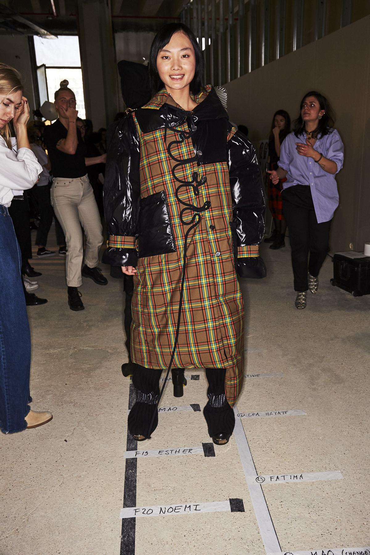 Aalto AW1920 Fashion Show Paris Backstage