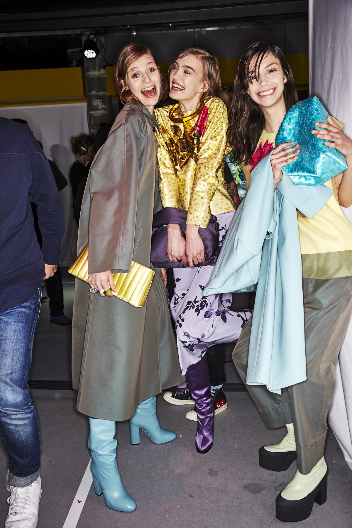 Dries Van Noten AW1920 Fashion Show Paris Backstage