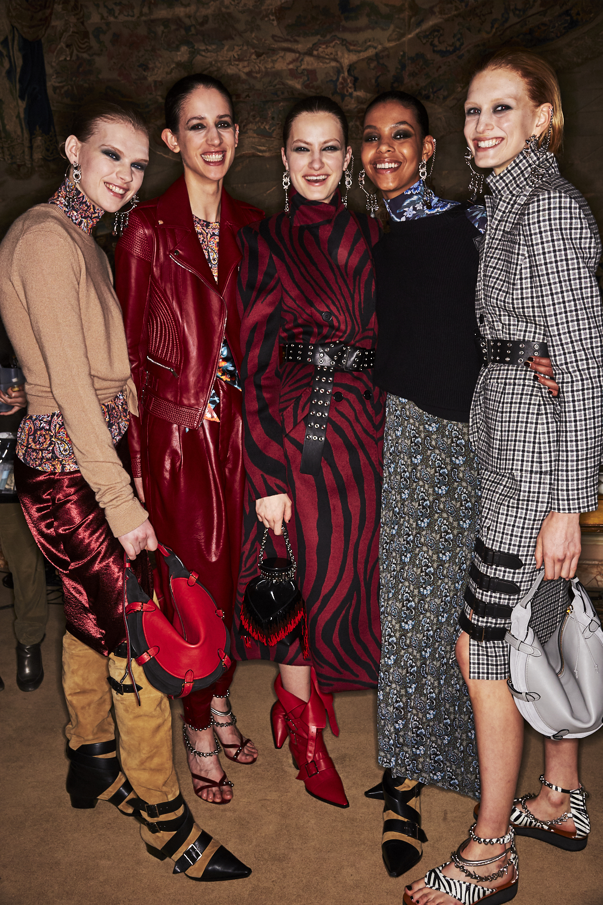 Altuzarra AW1920 Fashion Show Paris Backstage