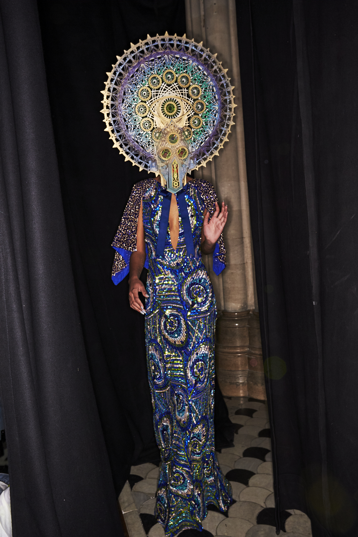 Manish Arora AW19 Fashion Show Paris Backstage
