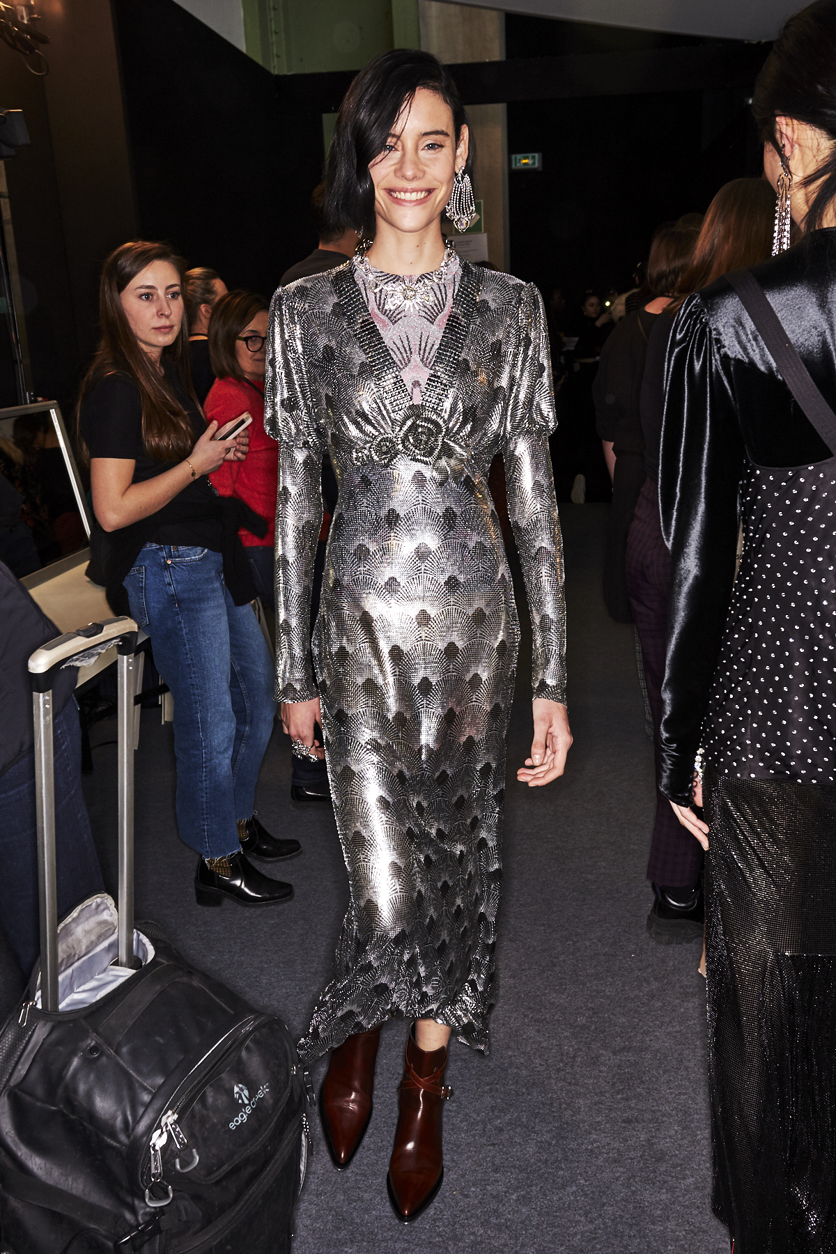 Paco Rabanne AW1920 Fashion Show Paris Backstage