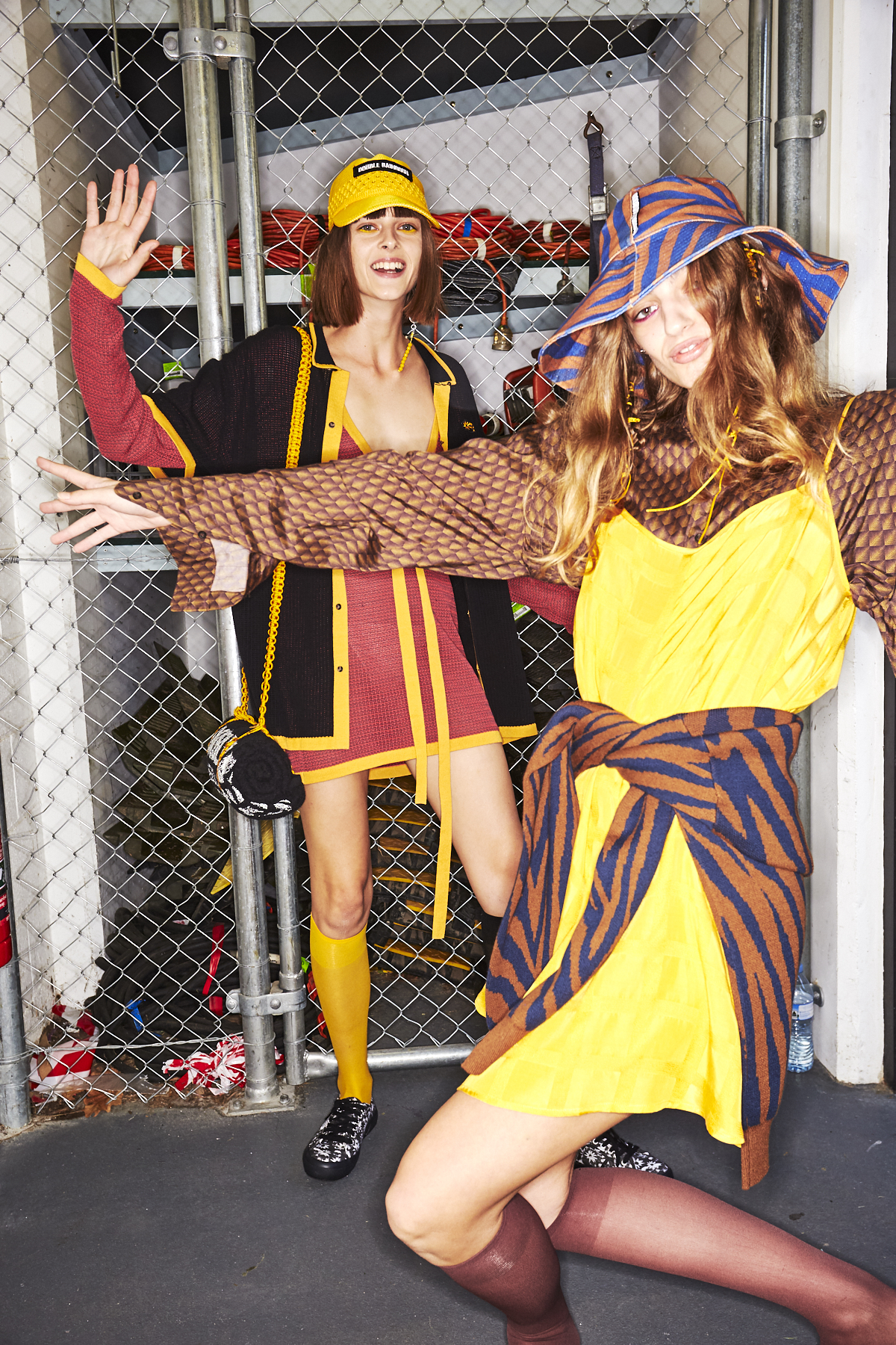 Double Rainbouu Resort 2020 Fashion Show Sydney Backstage