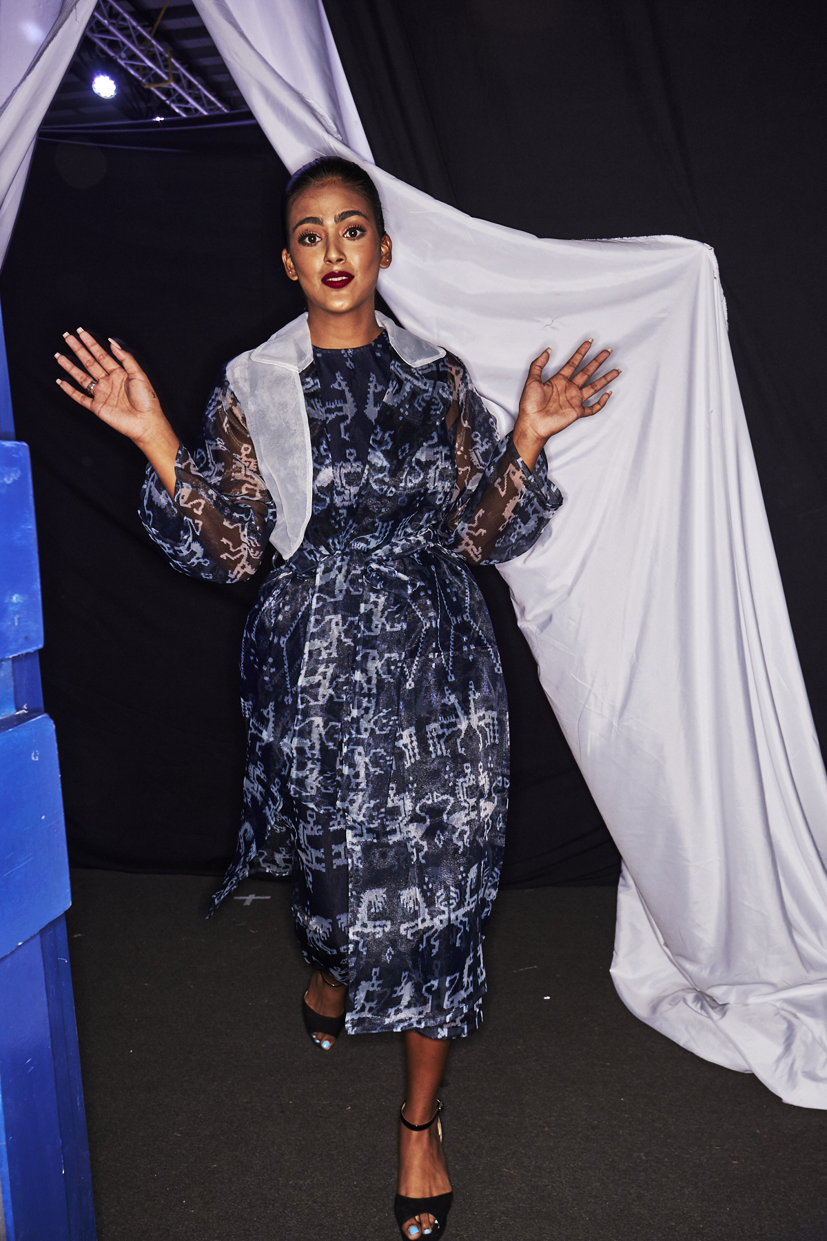 Nita Seno Adji 2019 Fiji Luxe Resort Fashion Show Suva Backstage