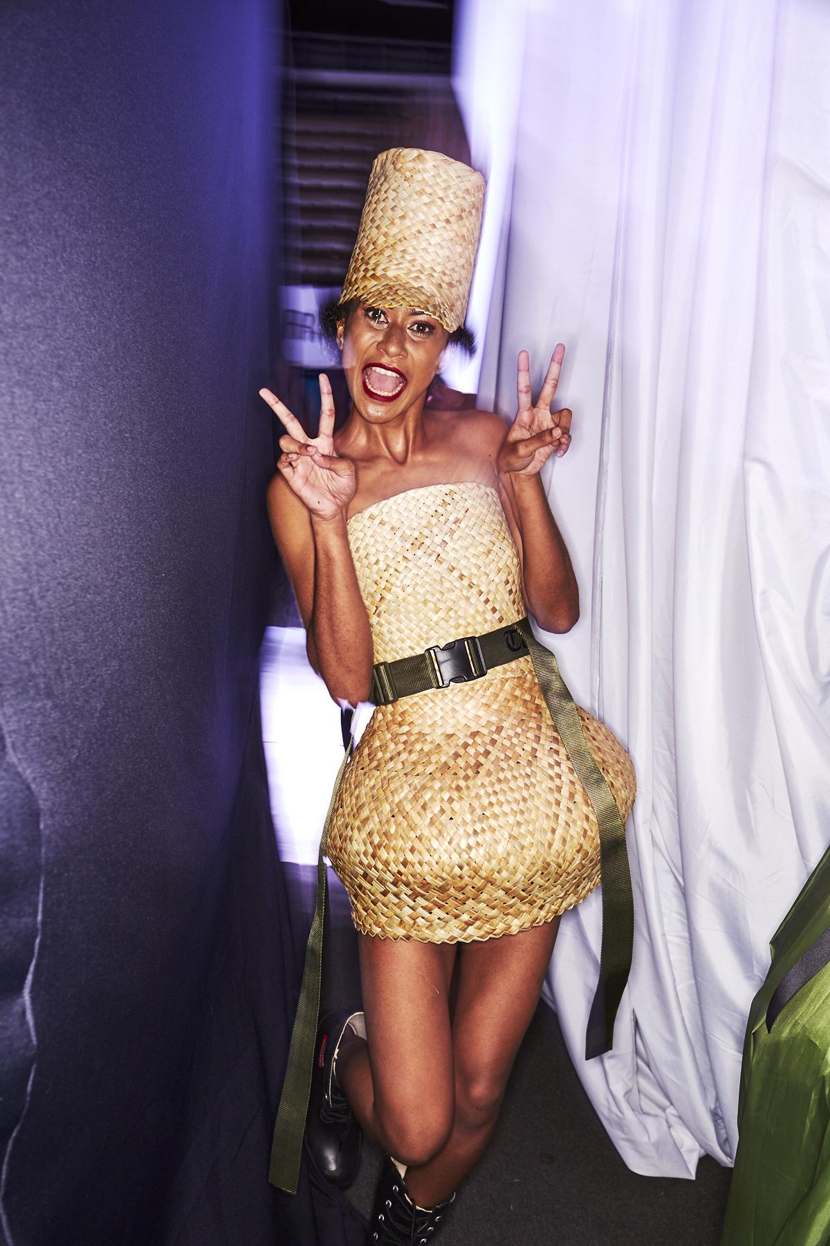 Shona Tawhiao 2019 Fiji Resort Luxw Fashion Show