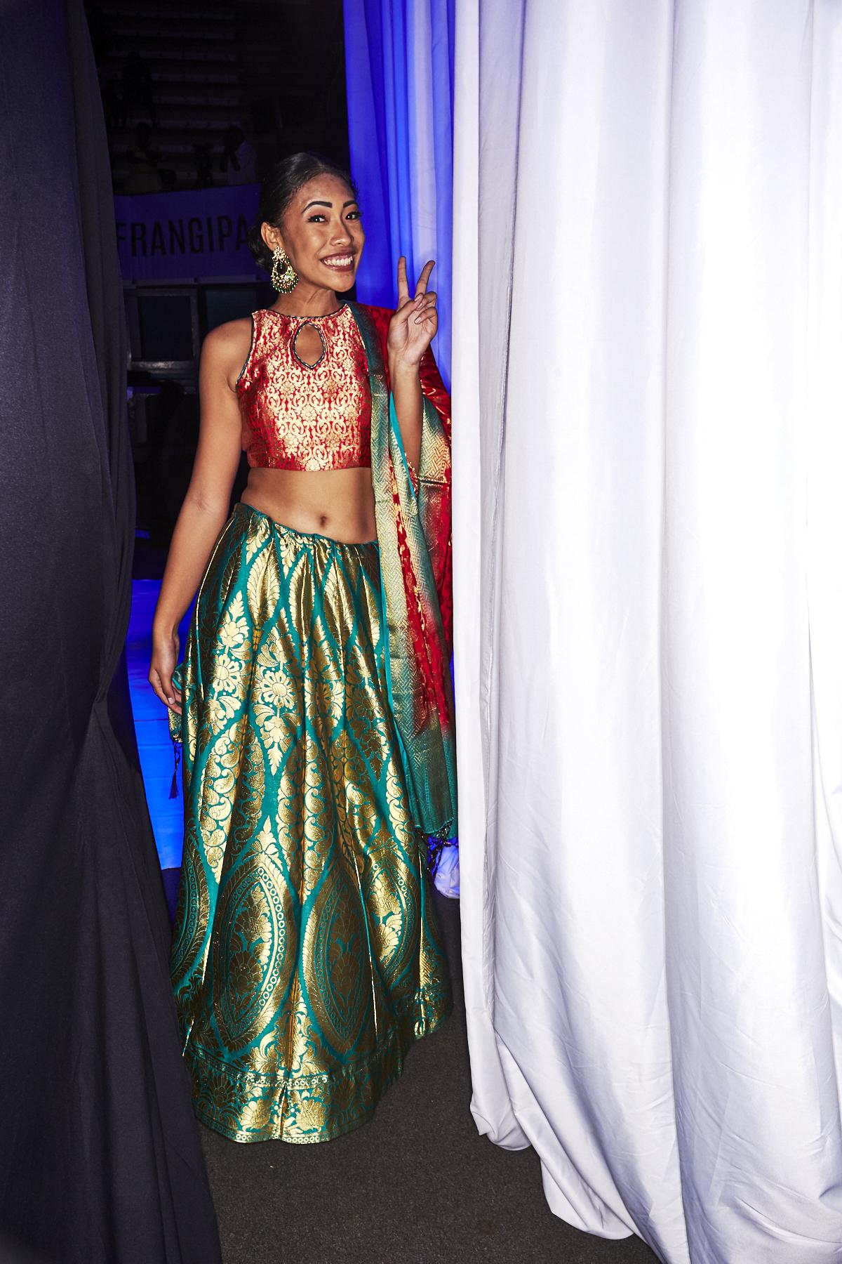 Style World by Yogita Khanna 2019 Fiji Cruise Resort Show Backstage Suva
