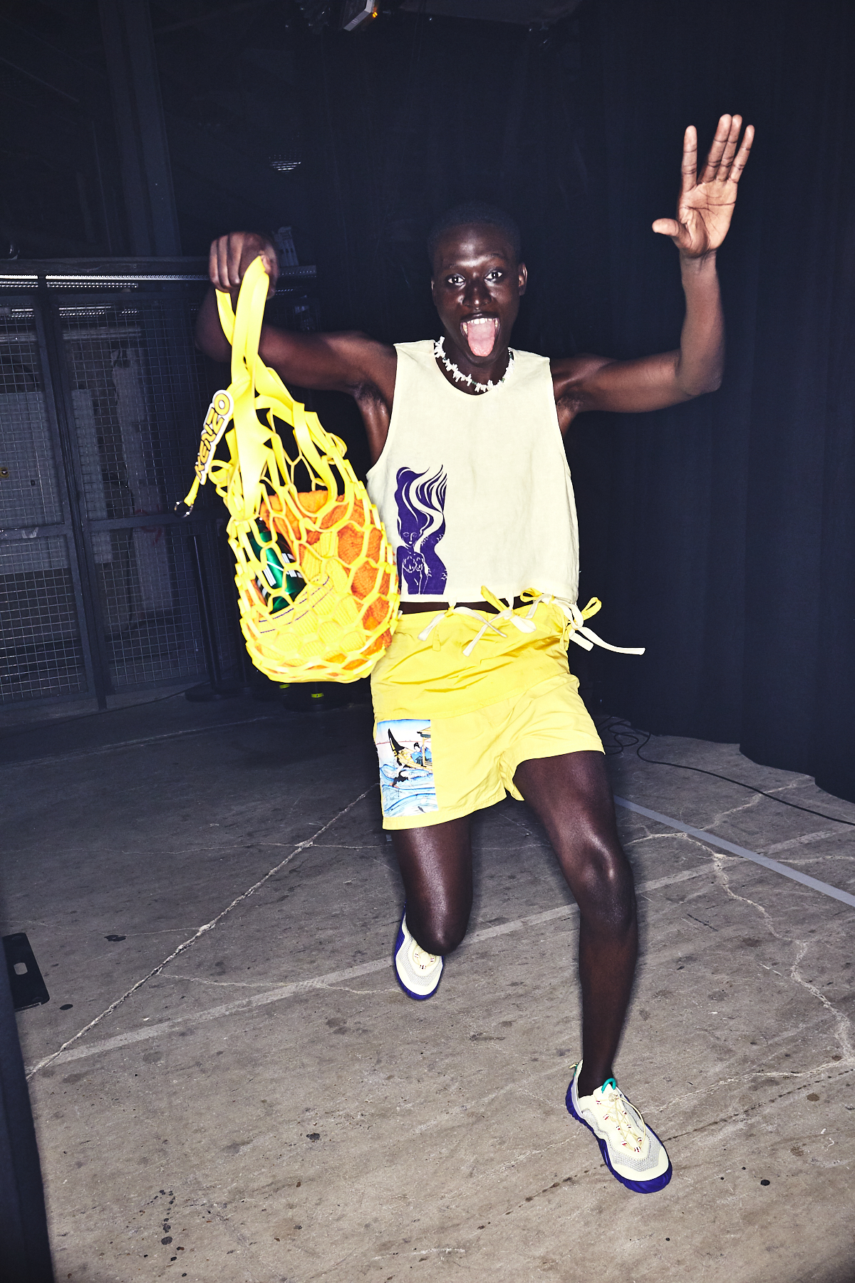Kenzo SS20 Men & Woman Fashion Show Paris Backstage