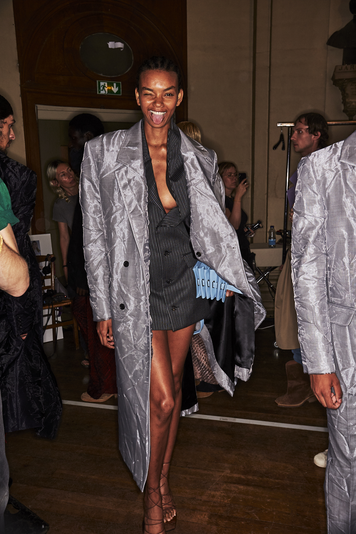 Y-Project by Glenn Martens SS20 Fashion Show Paris Backstage
