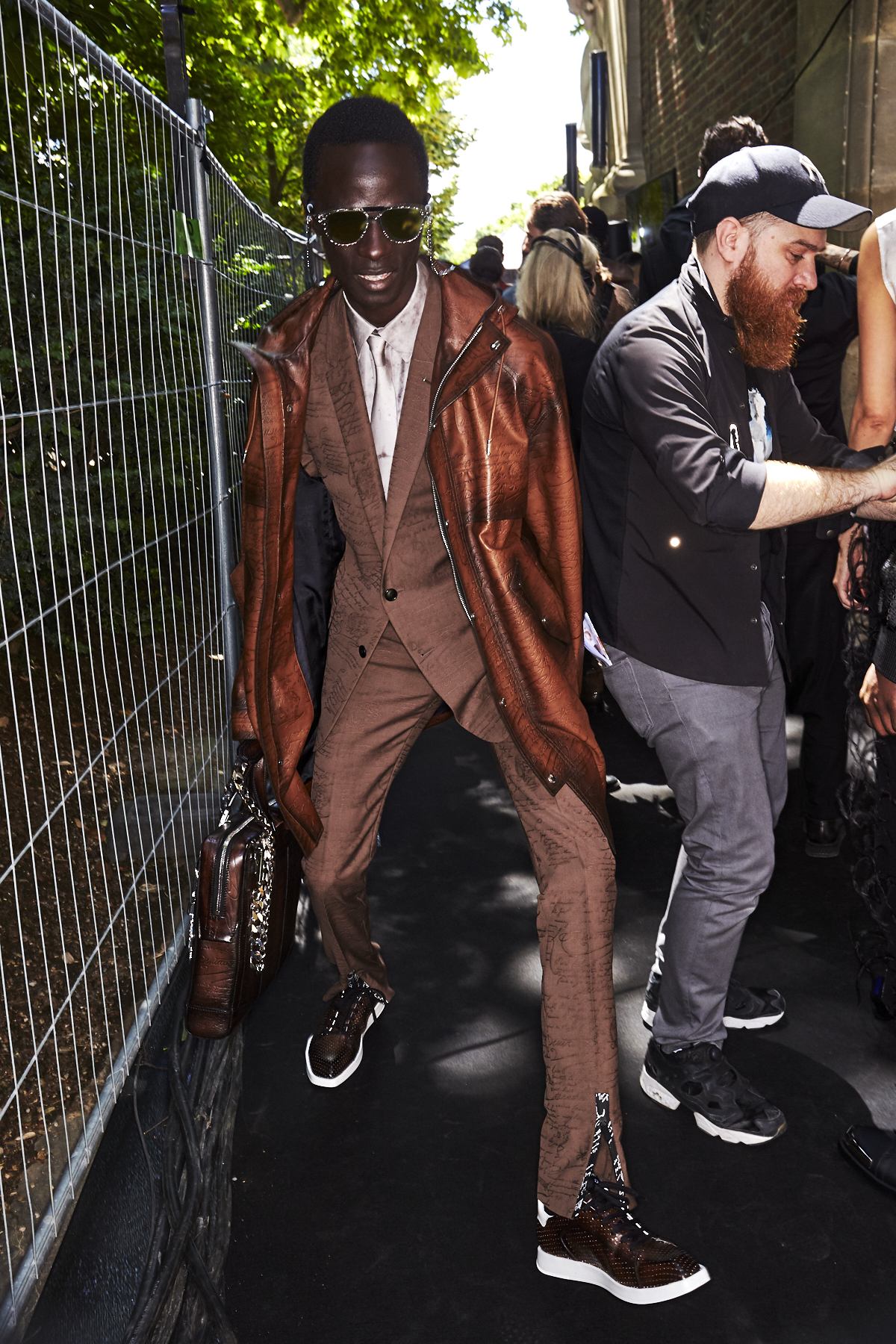 Berluti SS20 Fashion Show Paris Backstage