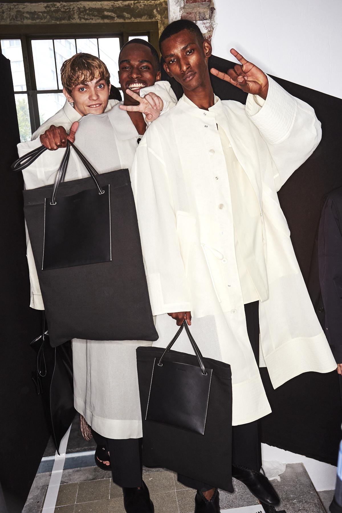 Jil Sander SS20 Men Fashion Show Paris Backstage