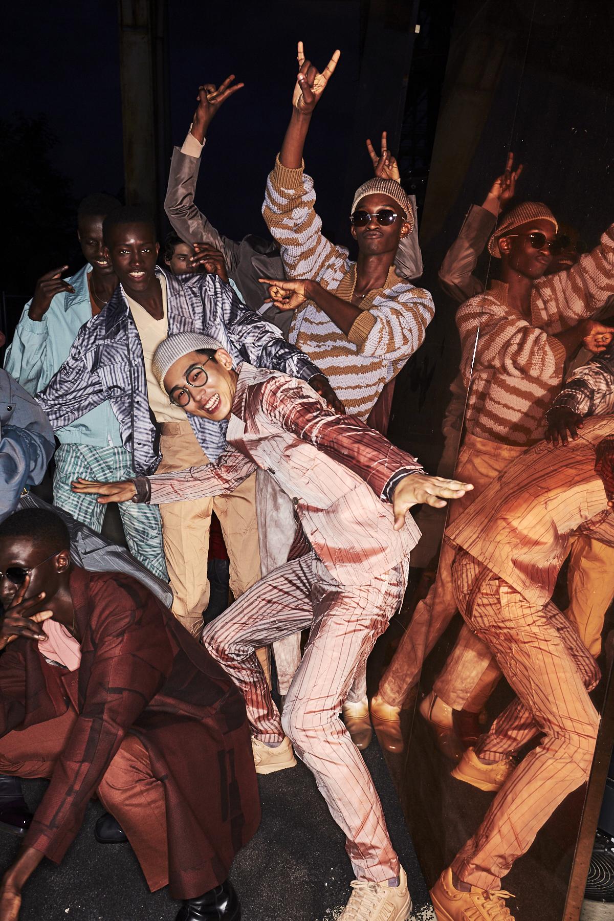Zegna SS20 Men Fashion Show Milan Backstage