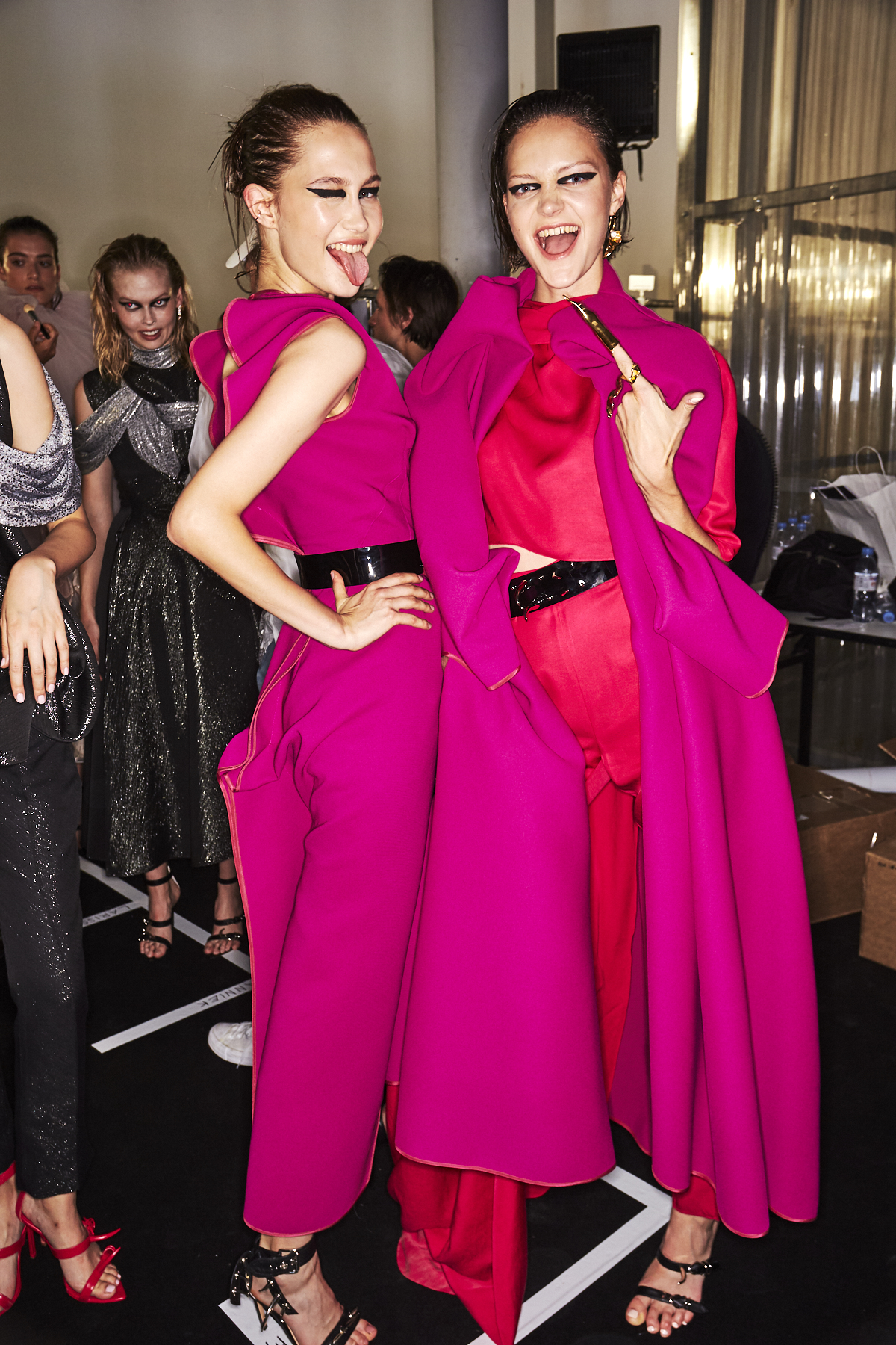 Toni Maticevski Haute Couture AW19 Fashion Show Paris Backstage