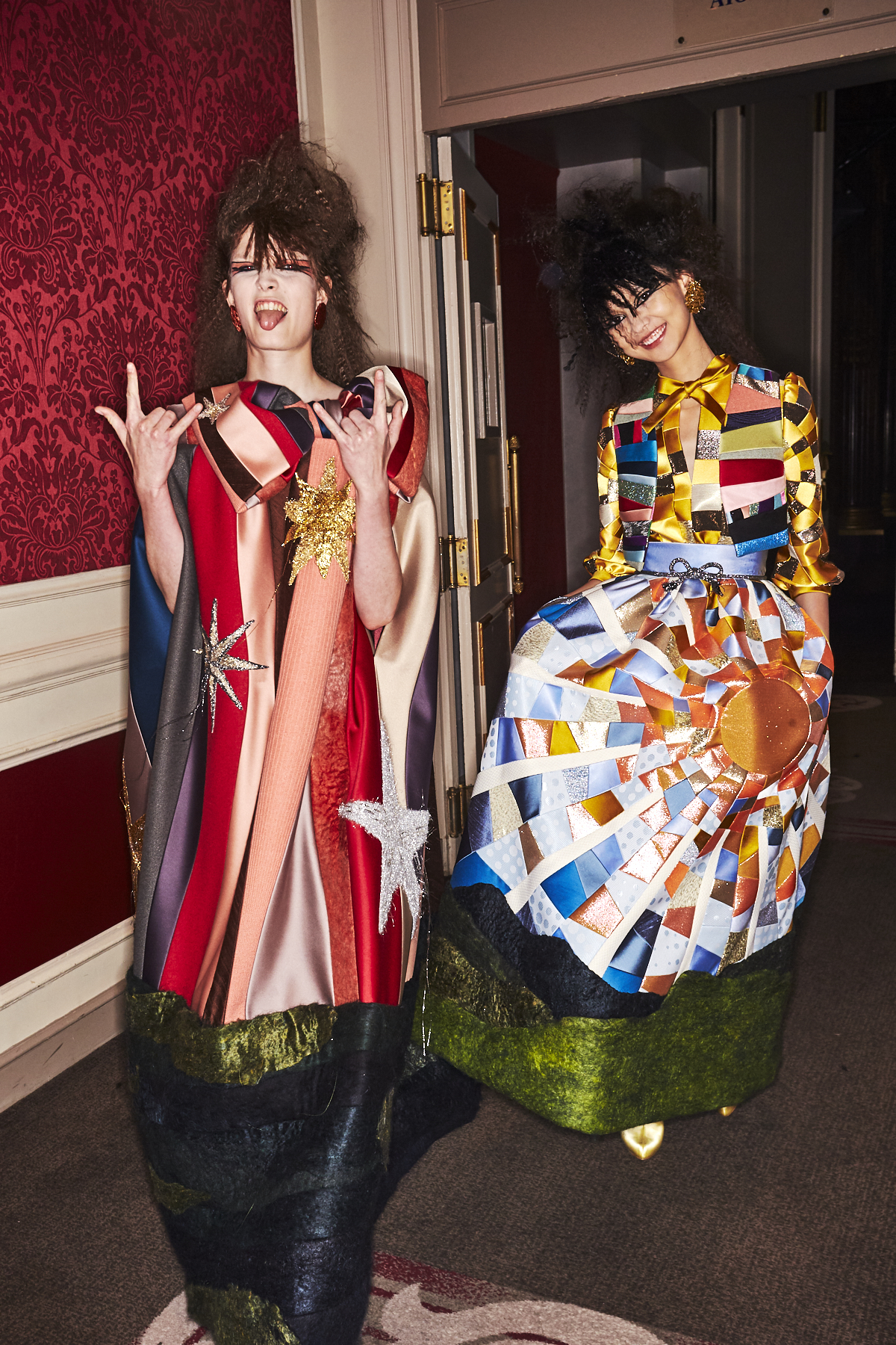 Viktor & Rolf AW19 Haute Couture Fashion Show Paris Backstage