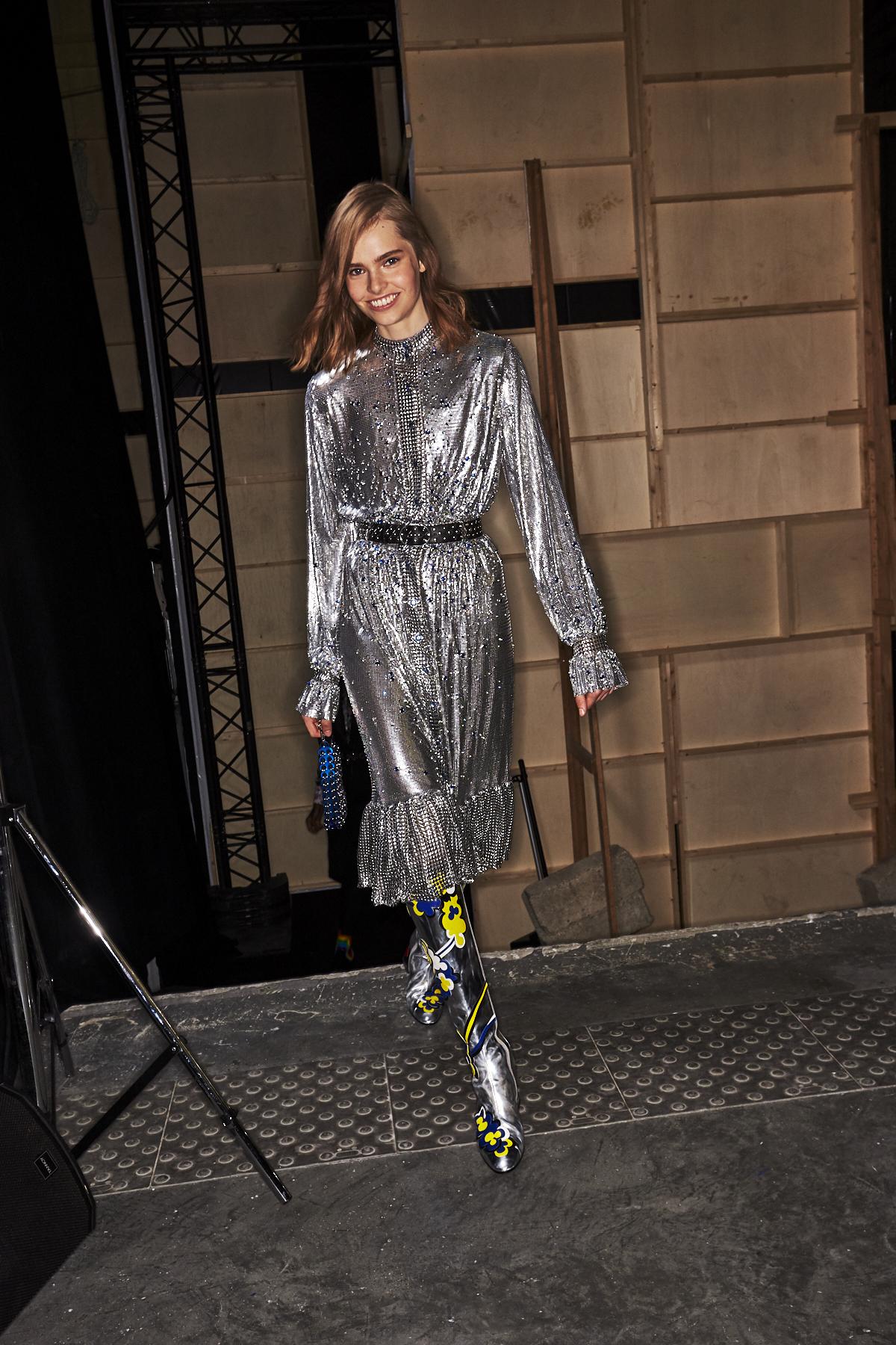 Paco Rabbane SS20 Fashion Show Paris Backstage
