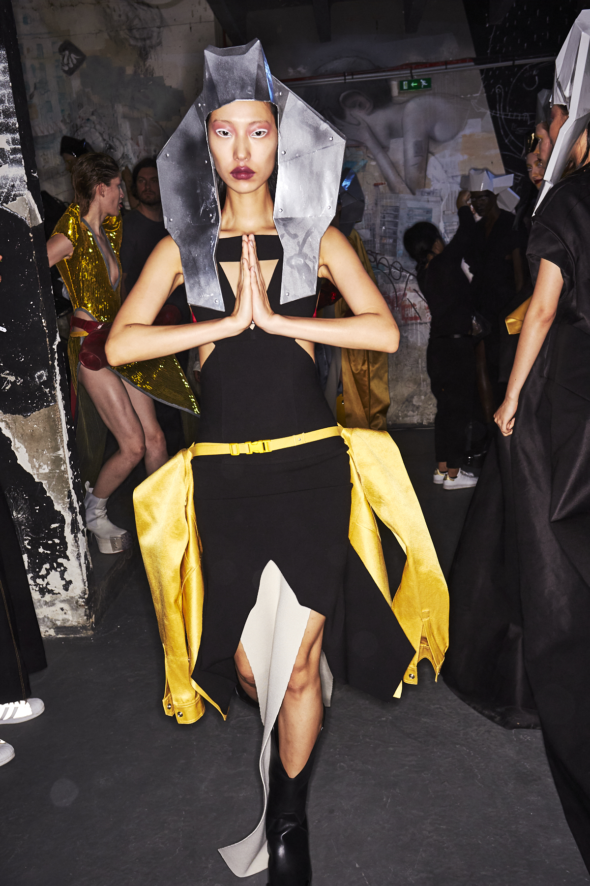Rick Owens SS20 Fashion Show Paris Backstage