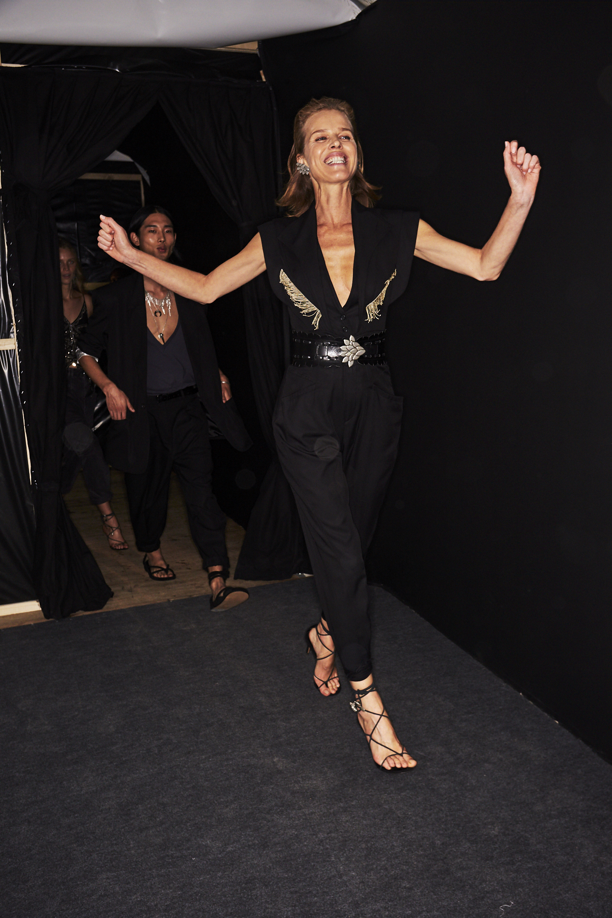 Isabel Marant SS20 Fashion Show Paris Backstage