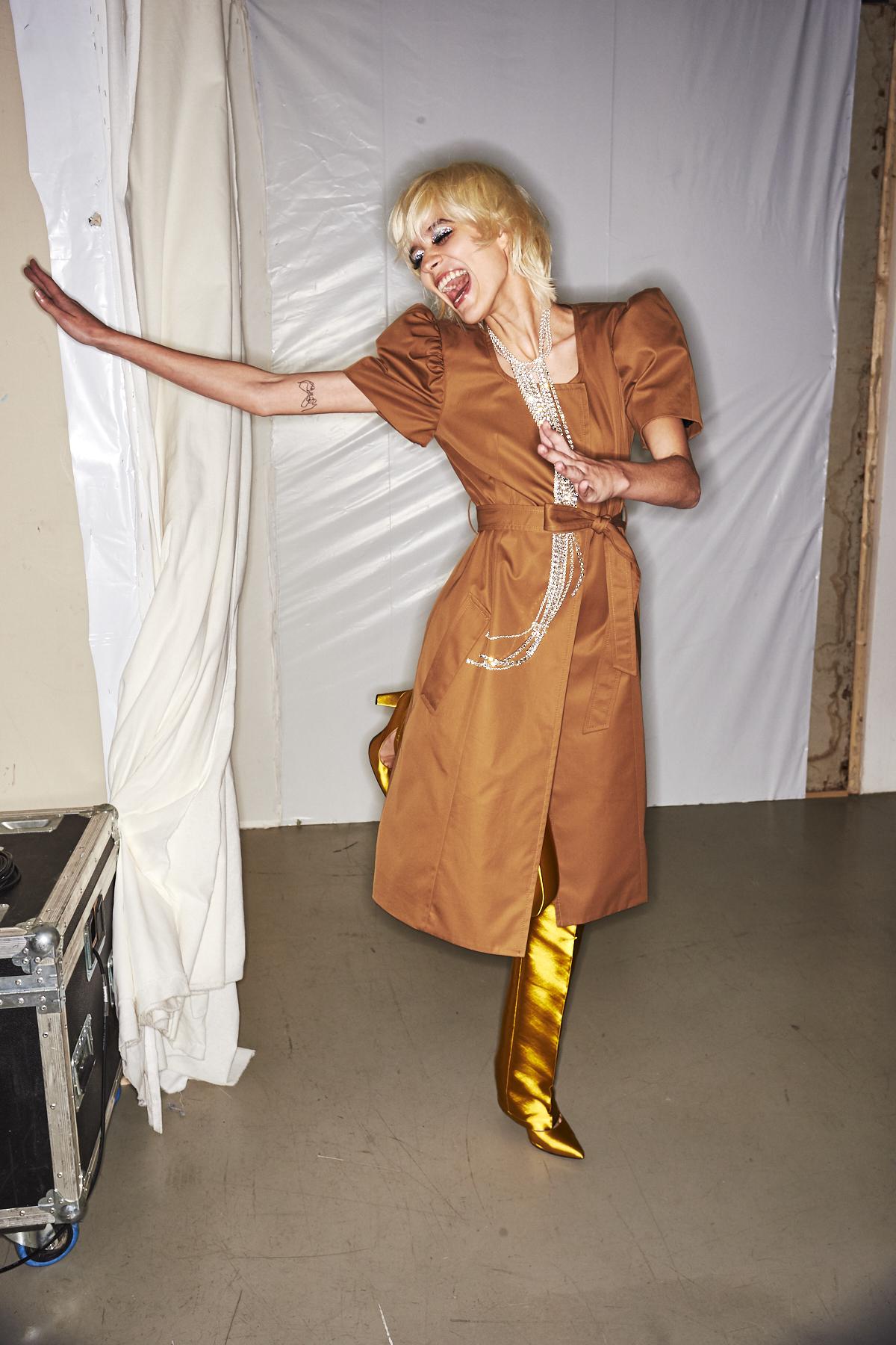 Lutz Huelle SS20 Fashion Show Paris Backstage