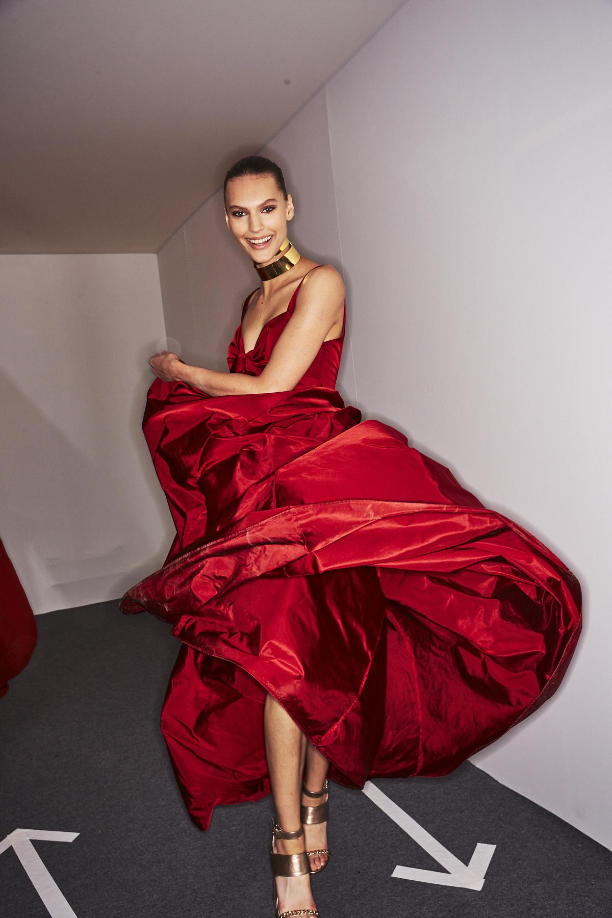 Elie Saab SS20 Fashion Show Paris Backstage