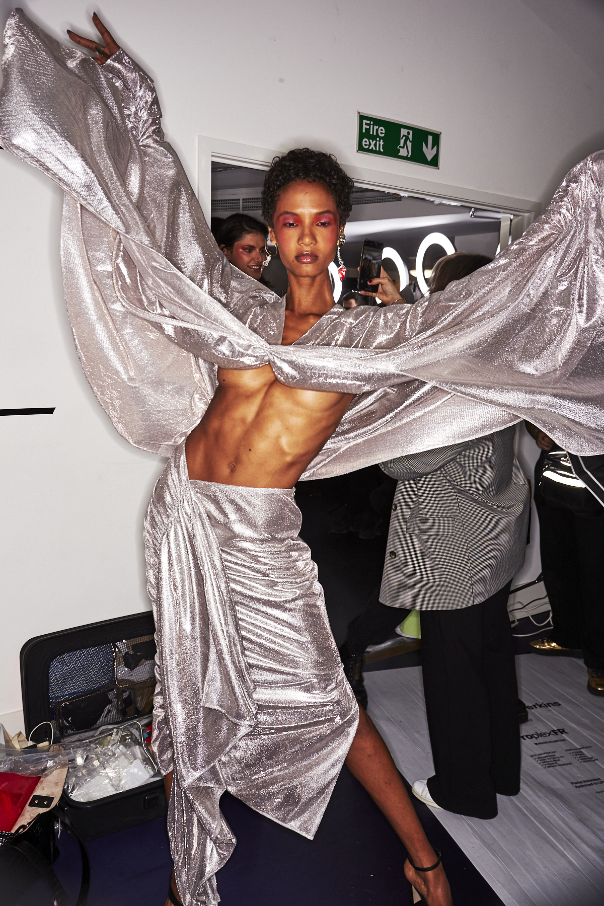 Paula Knorr SS20 Fashion Show London Backstage