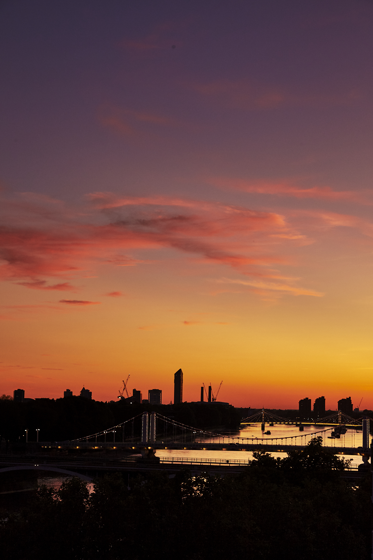 Battersea, London Sunset