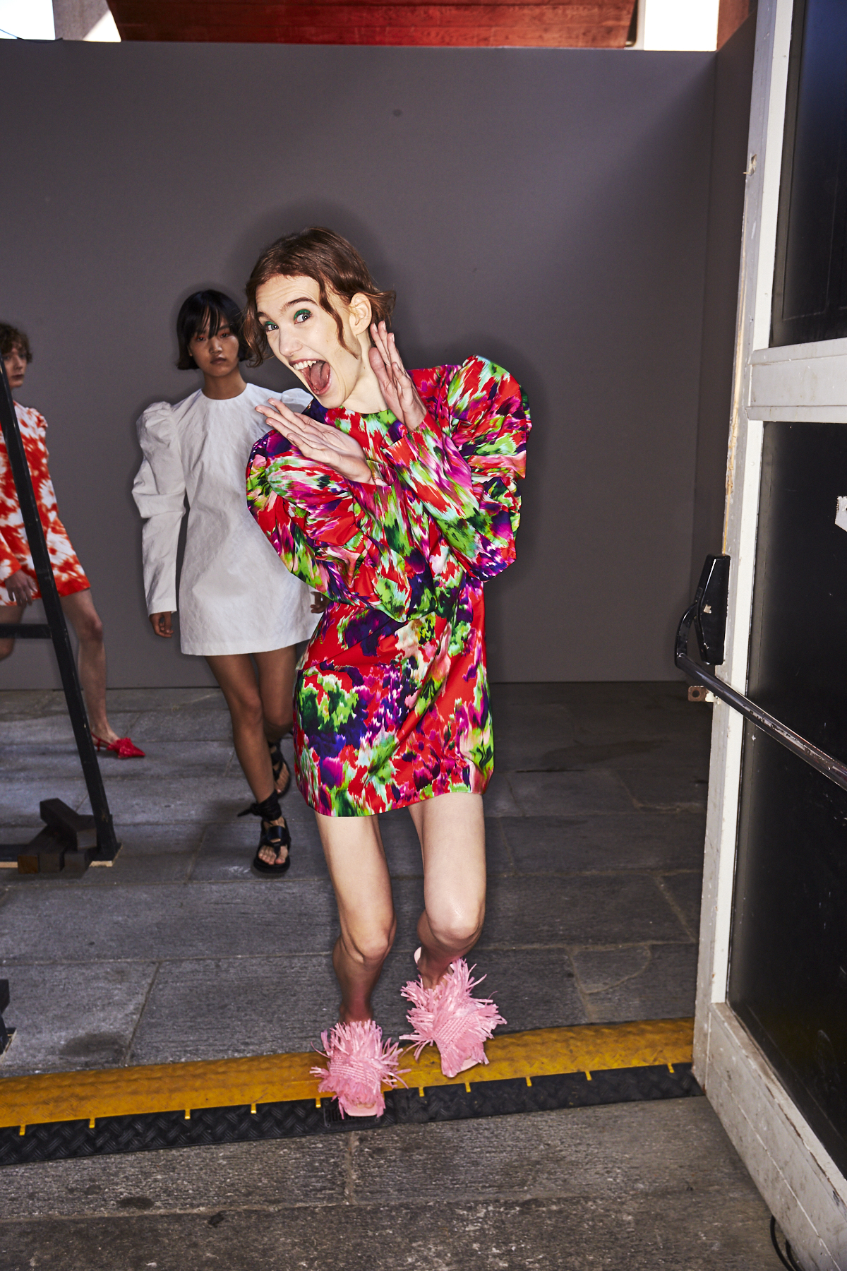 MSGM SS20 Fashion  Show Milan Backstage