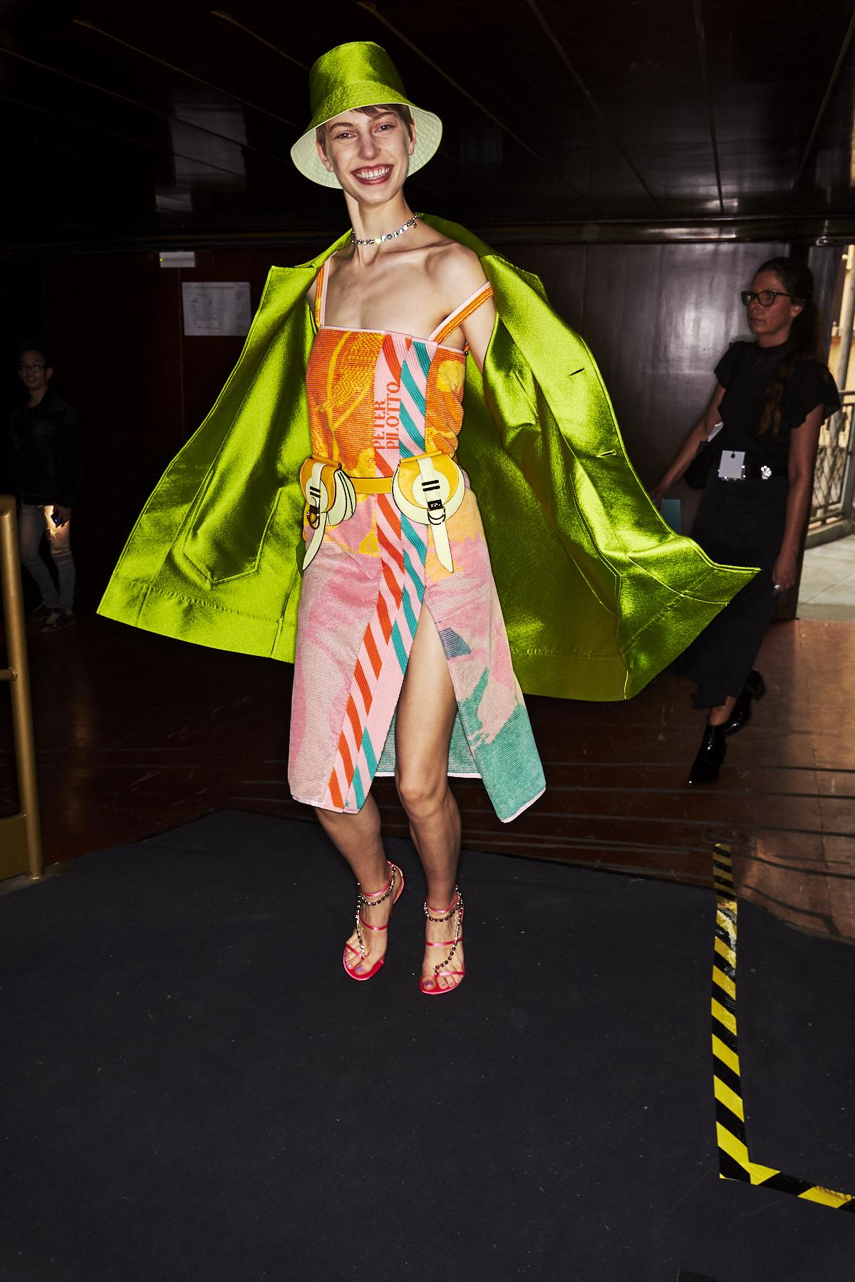 Peter Pilotto SS20 Fashion Show Milan Backstage