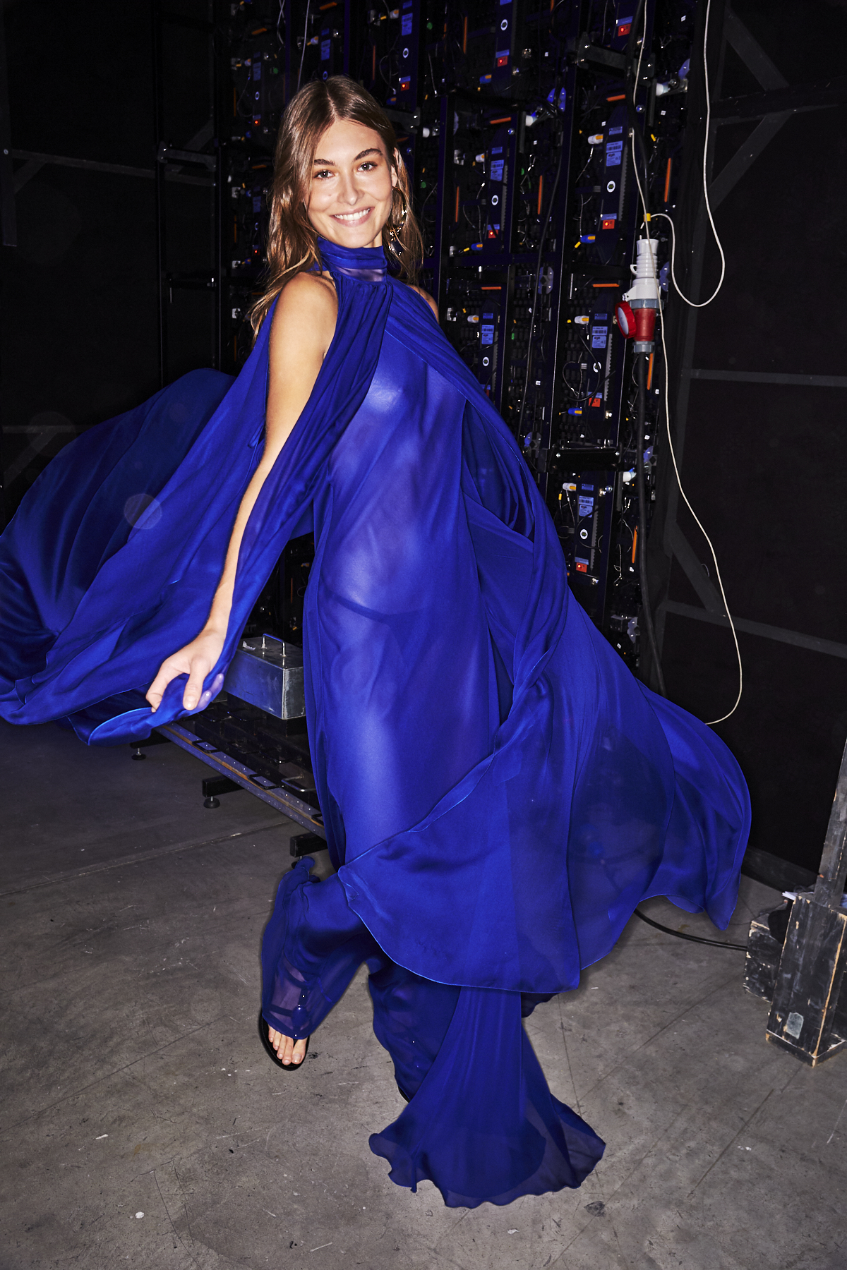 Alberta Ferretti SS20 Fashion Show Milan Backstage