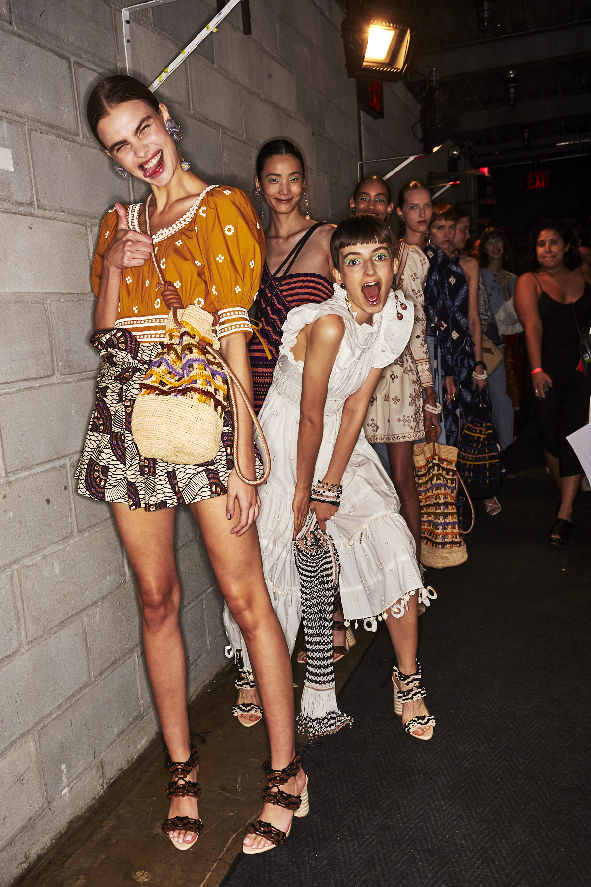 Ulla Johnson SS20 Fashion Show New York Backstage