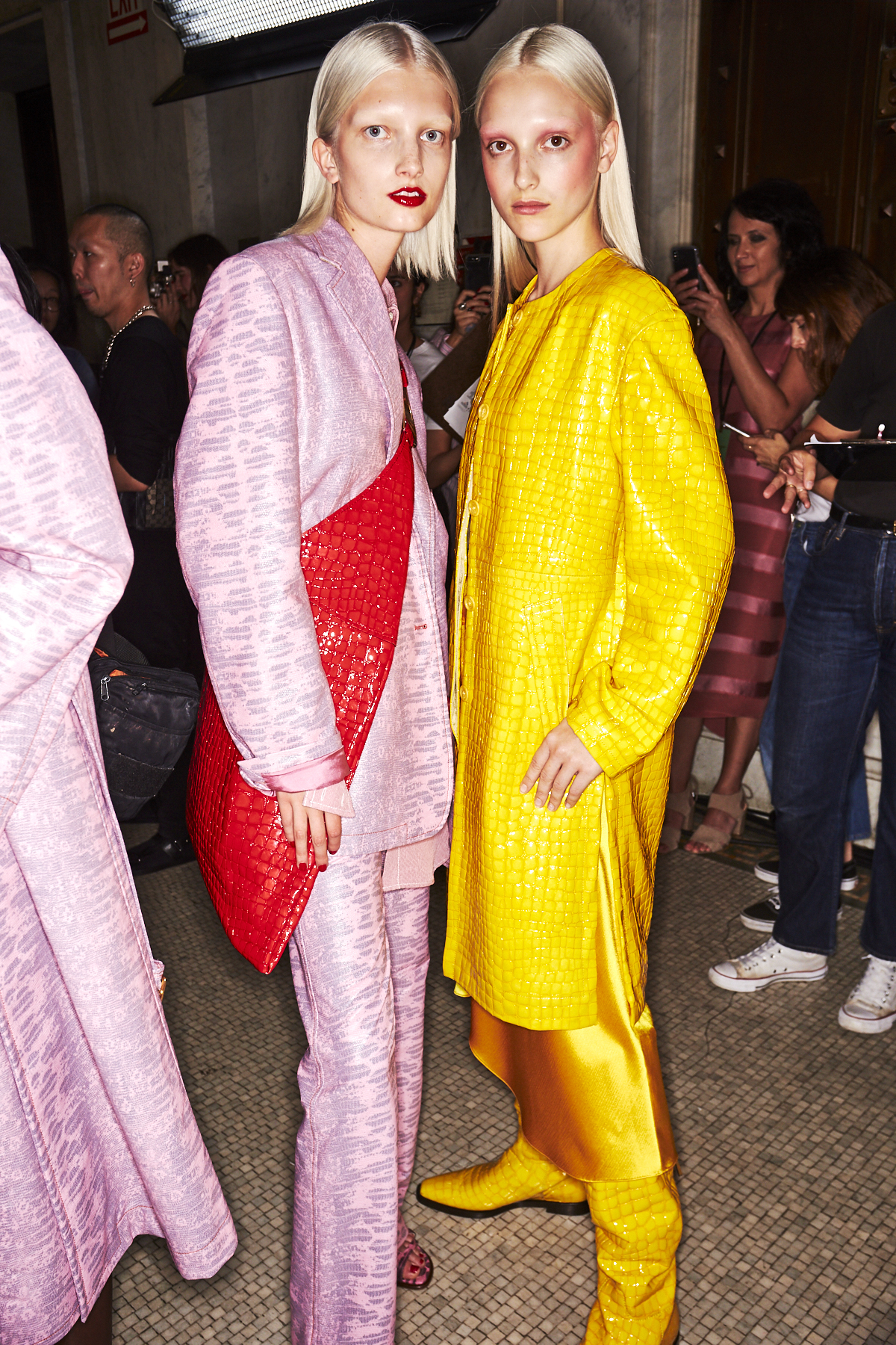 Sies Marjan SS20 Fashion Show New York Backstage