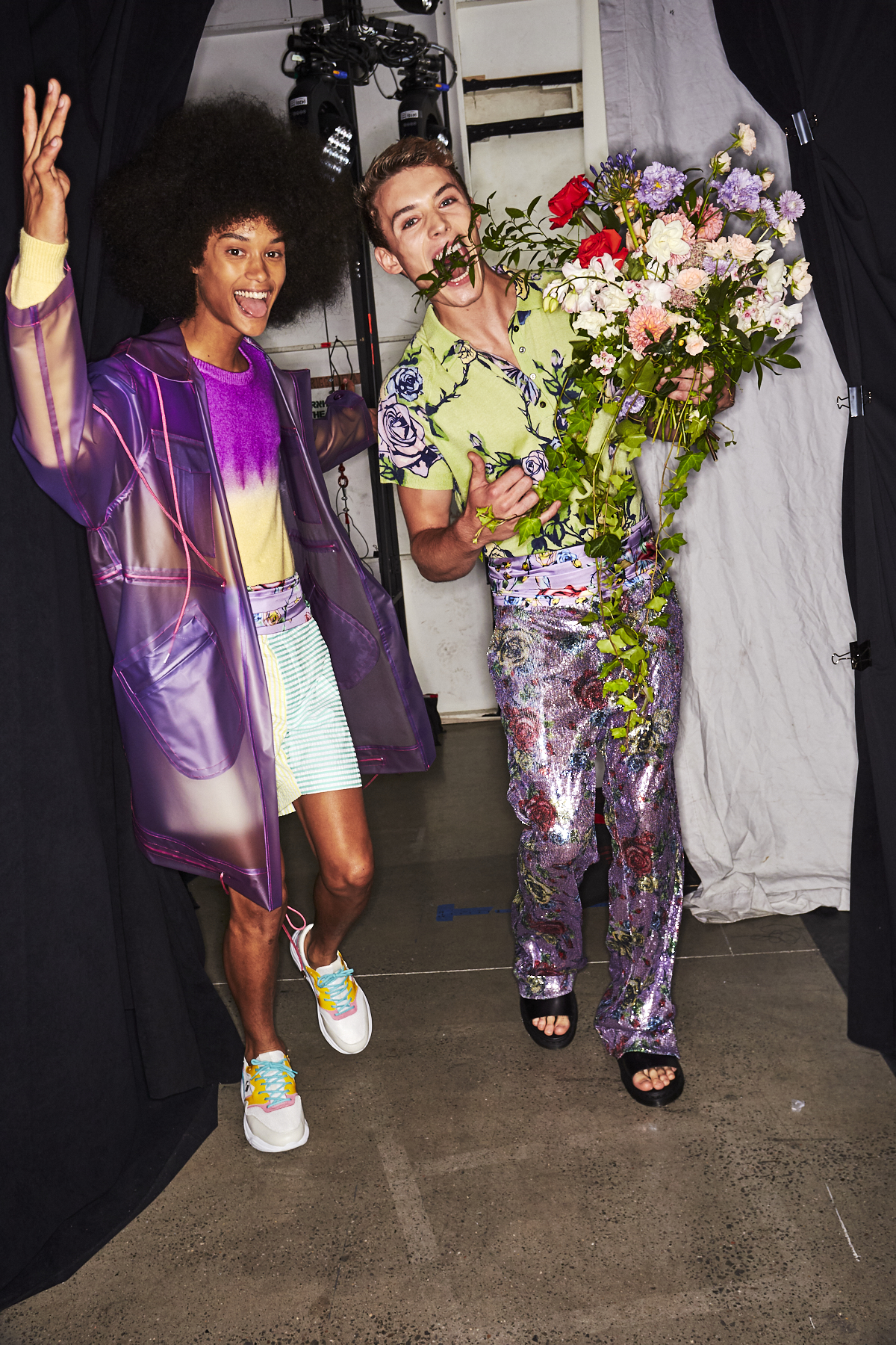 Prabal Gurung SS20 Fashion Show New York Backstage