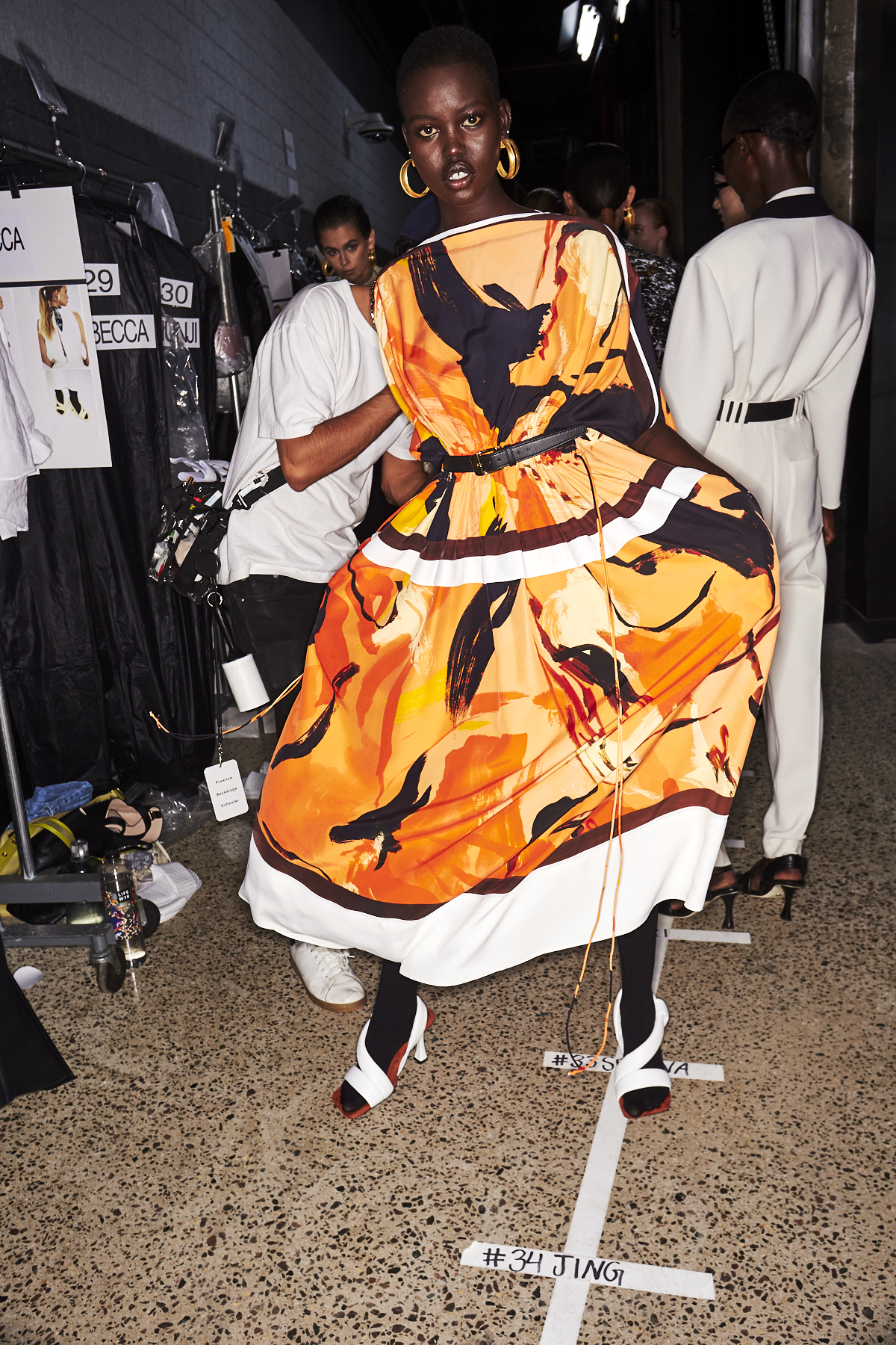 Proenza Schouler SS20 Fashion Show New York Backstage