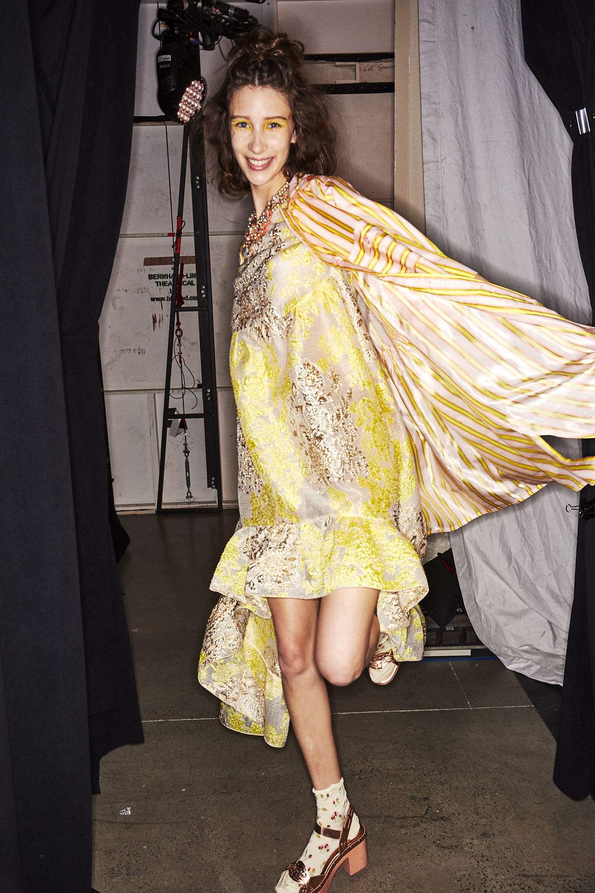Anna Sui SS20 Fashion Show New York Backstage