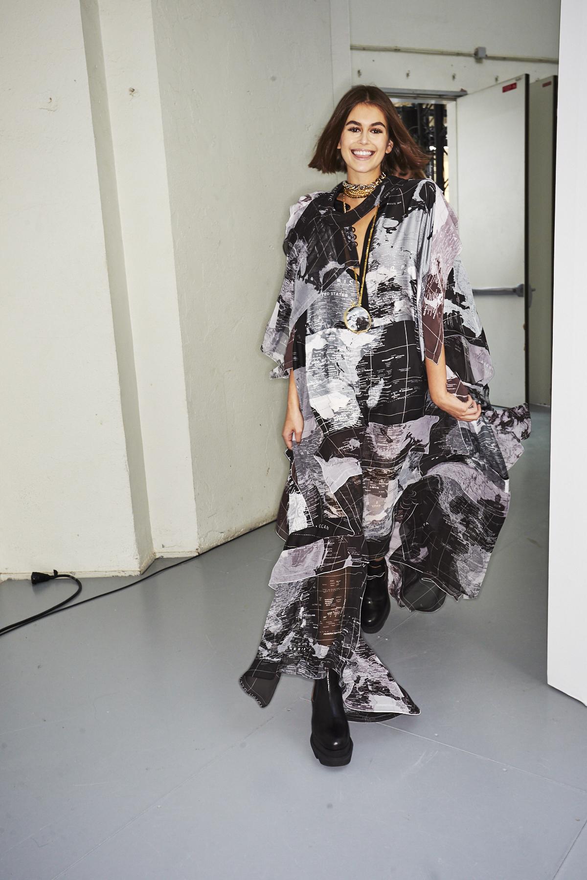 Sacai SS20 Fashion Show Paris Backstage